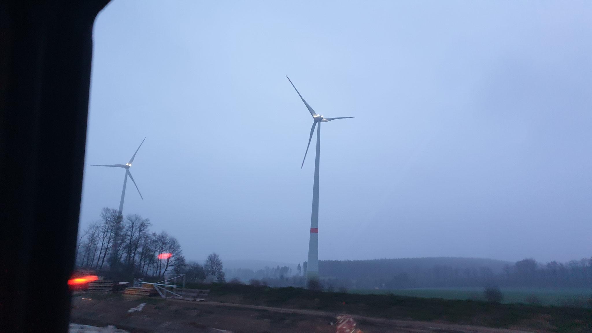 Gegen Abend gibt es Nebel in Deutschland