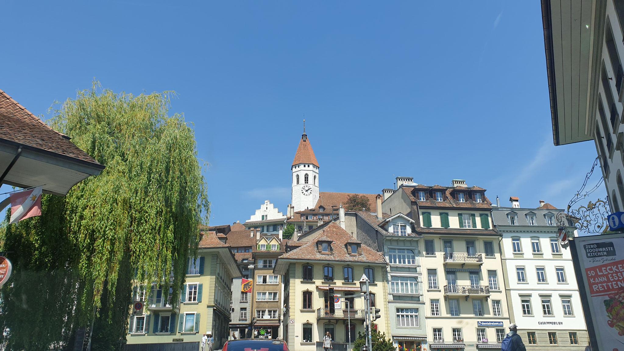 Thun's schönes Zentrum und ...