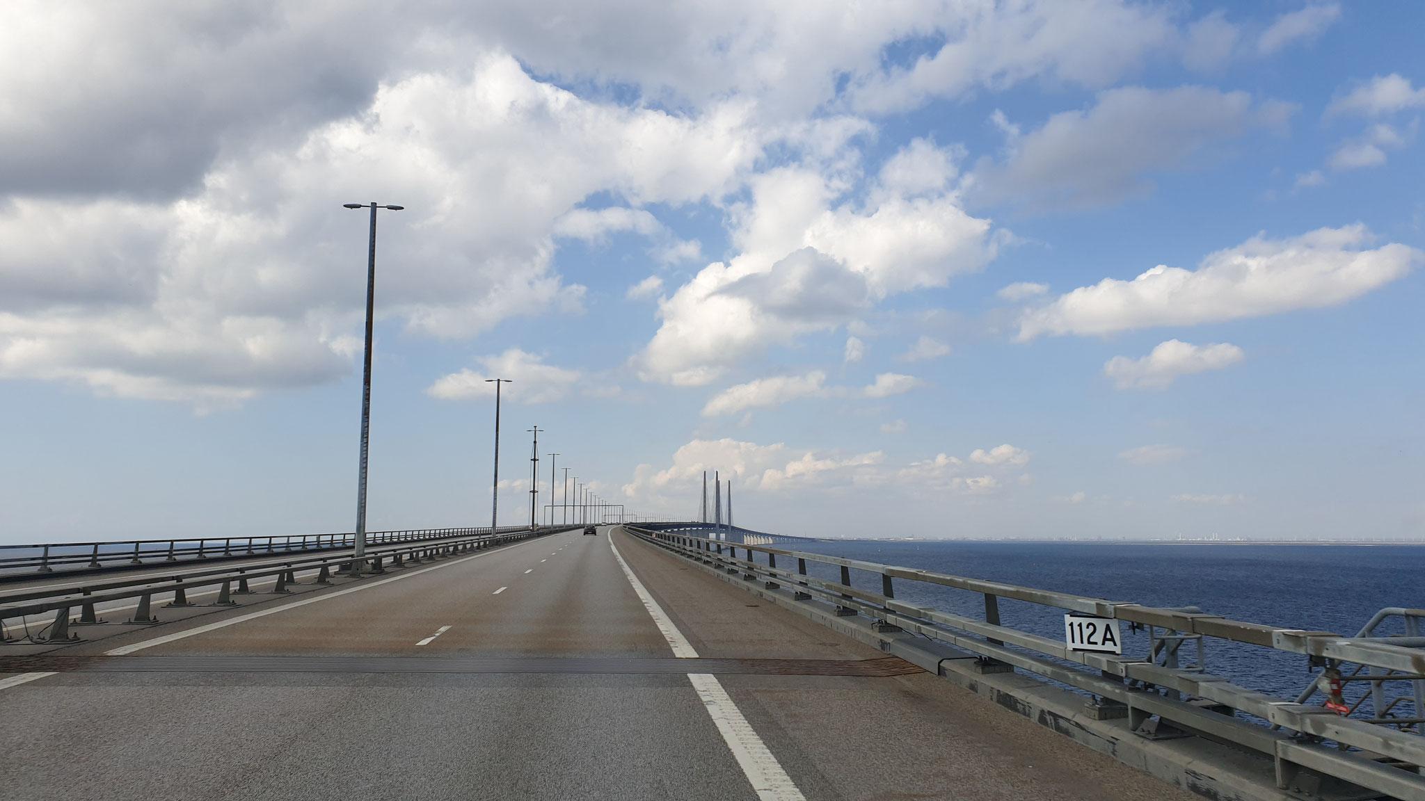 Die erste Brücke von Schweden nach Dänemark