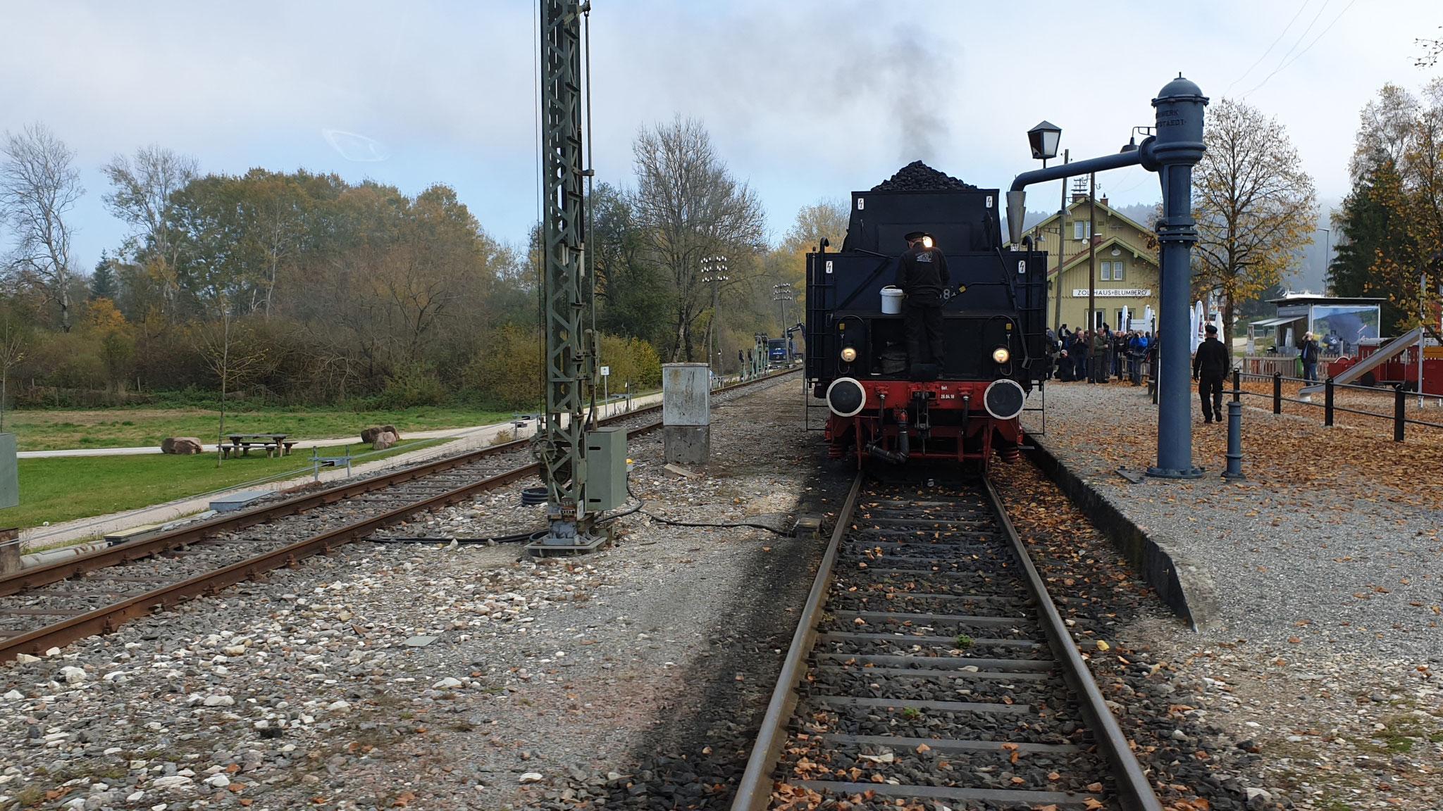 """Die """"Sauschwänzlebahn"""" in Blumberg ist auch startklar"""