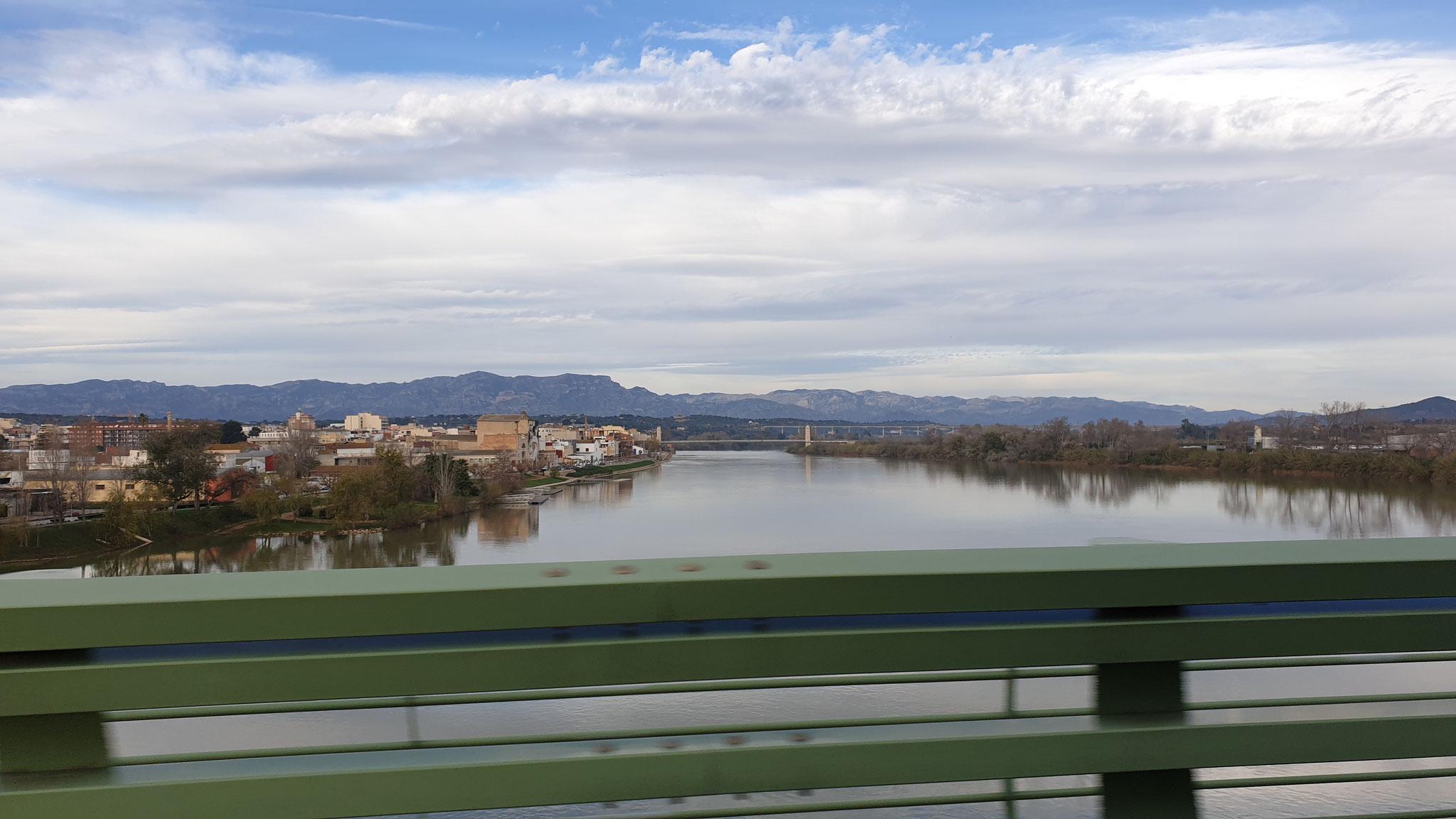 Einer der wenigen Flüsse, die tatsächlich Wasser führen