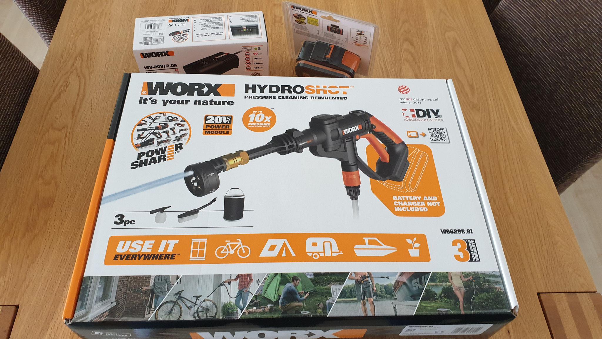 Hier ist unser neuer HydroShot