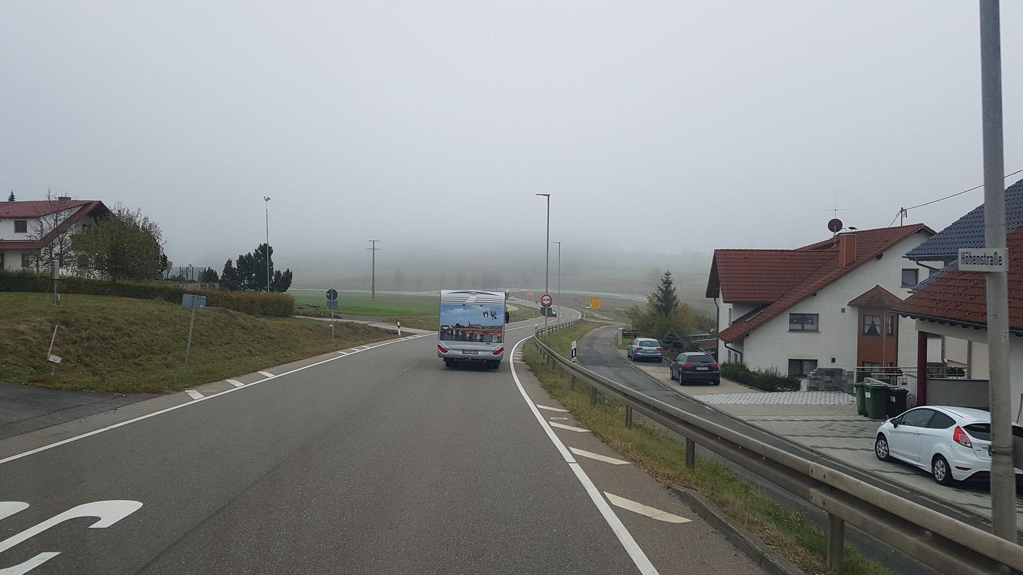 Zurück im Nebel...
