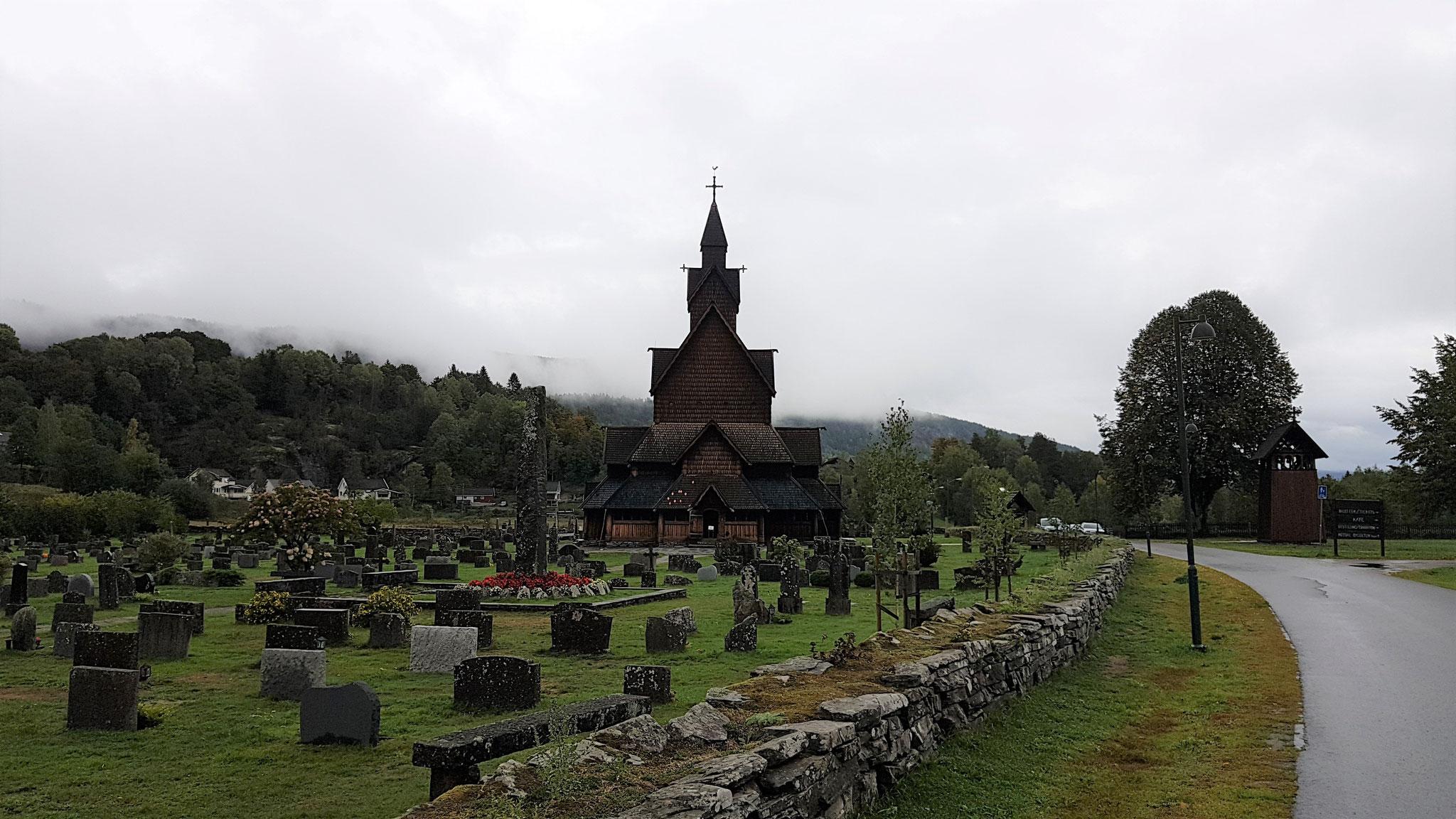 Die Stabskirche von Heddal