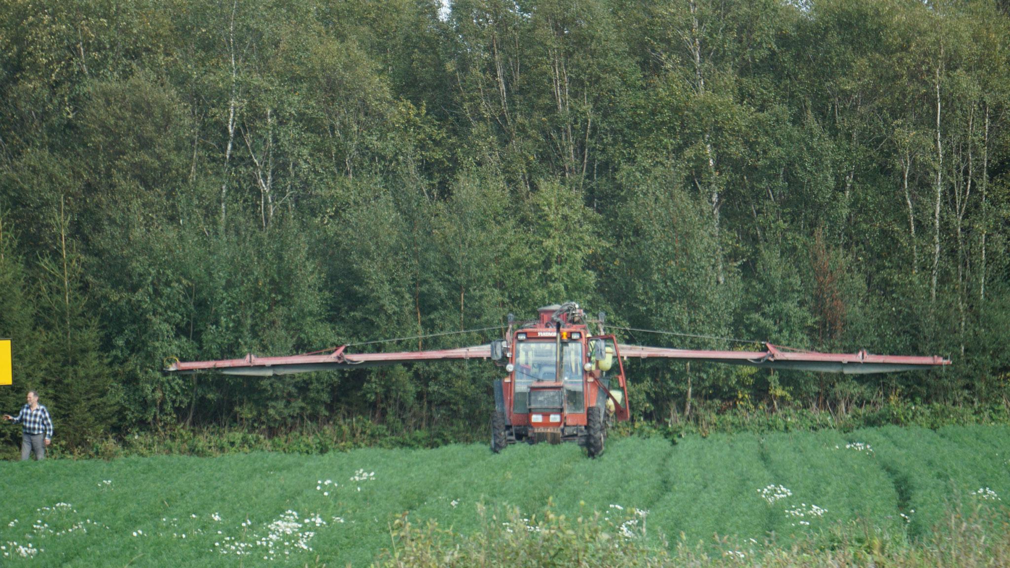 Flugzeug oder Traktor?