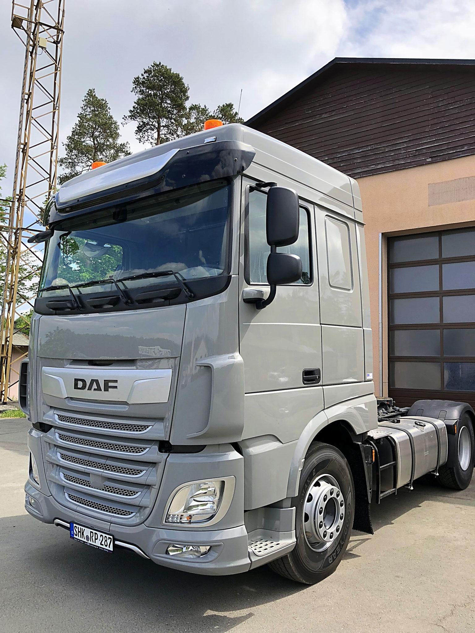 Anschaffung einer neuen Sattelzugmaschine DAF