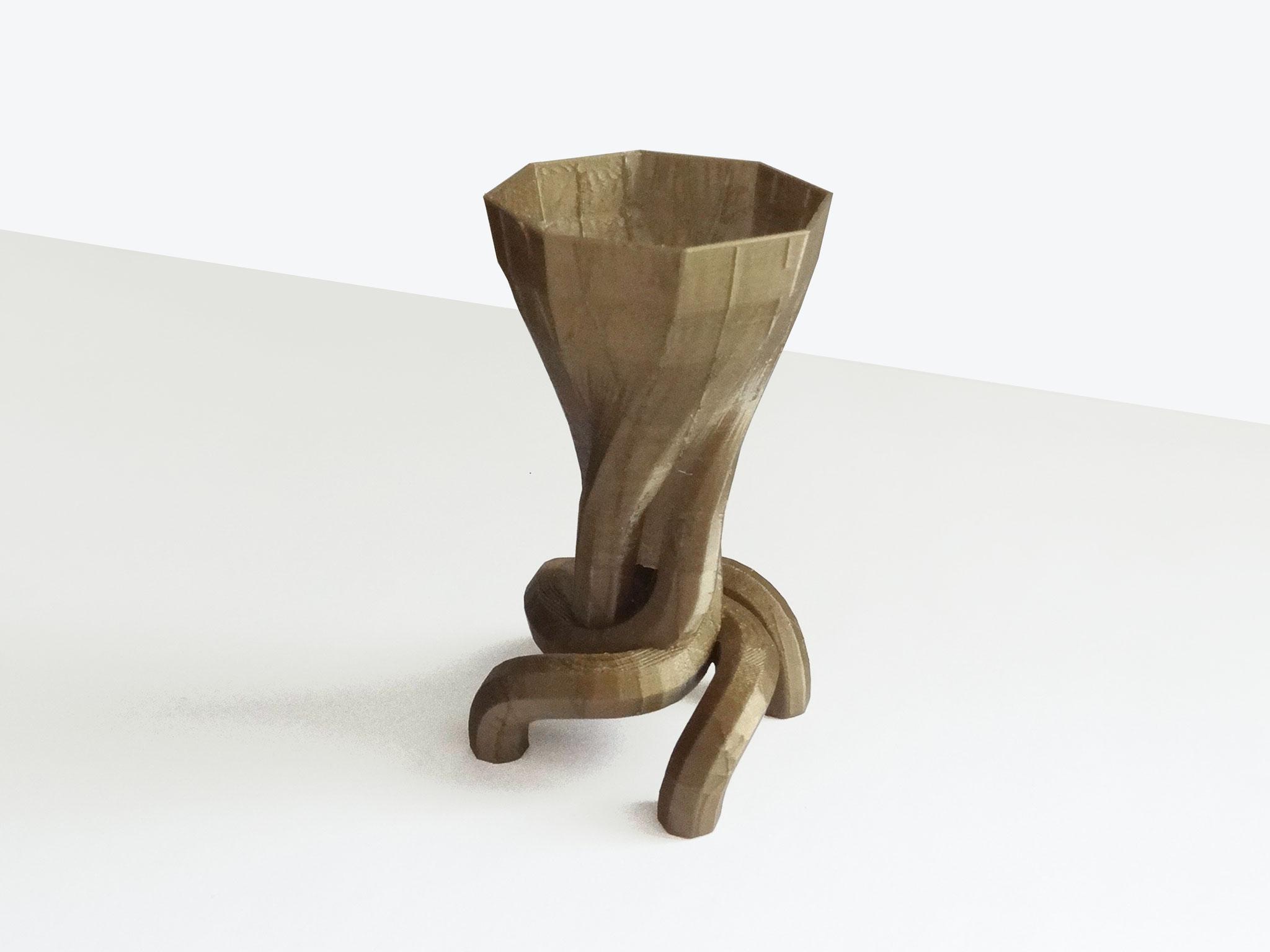Vase Borcéliande print 3D