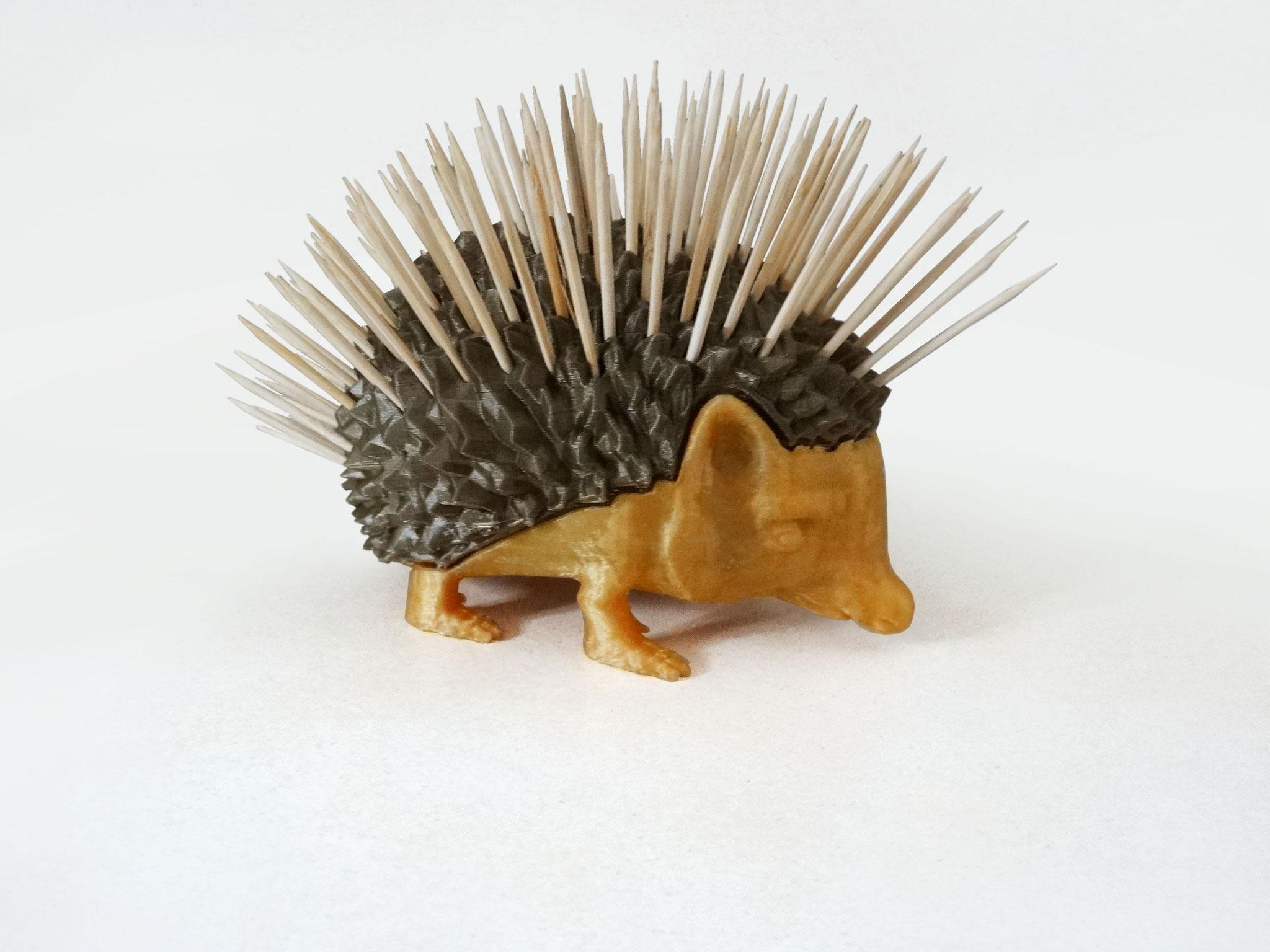 Porte cure-dent Hérisson print 3D