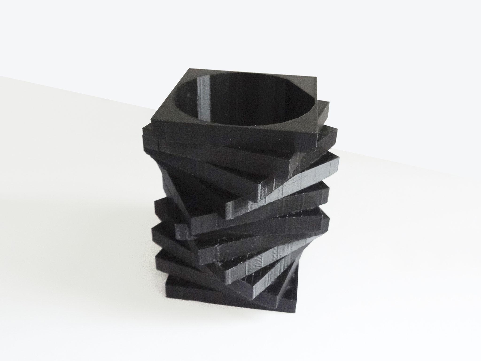 Vase Décale print 3D