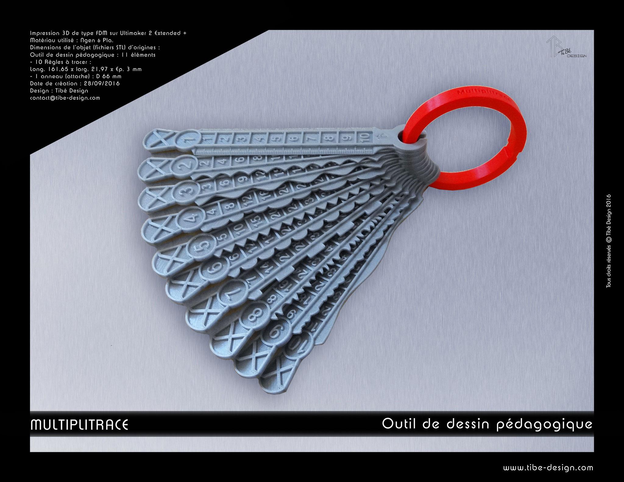 Outil de dessin Multiplitrace