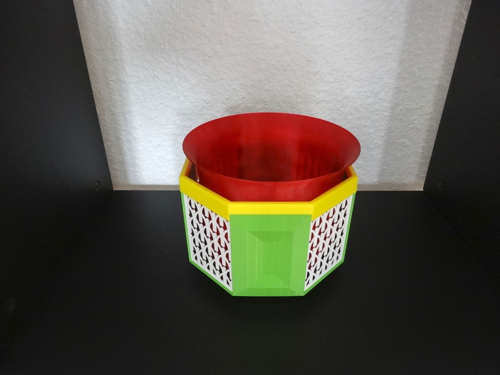 Pot ou cache-pot Pot-it & bac à glace print 3D