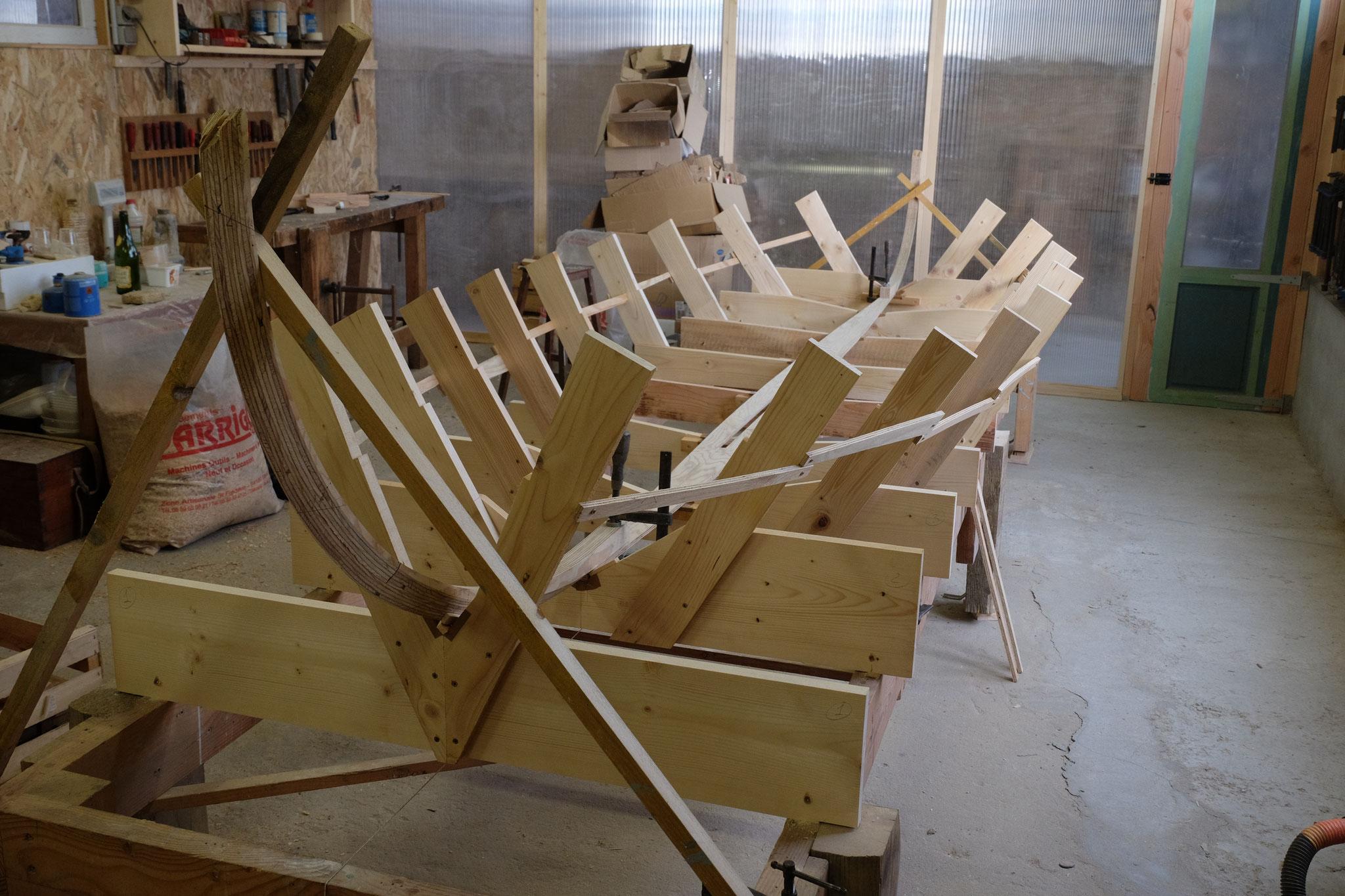 La charpente axiale