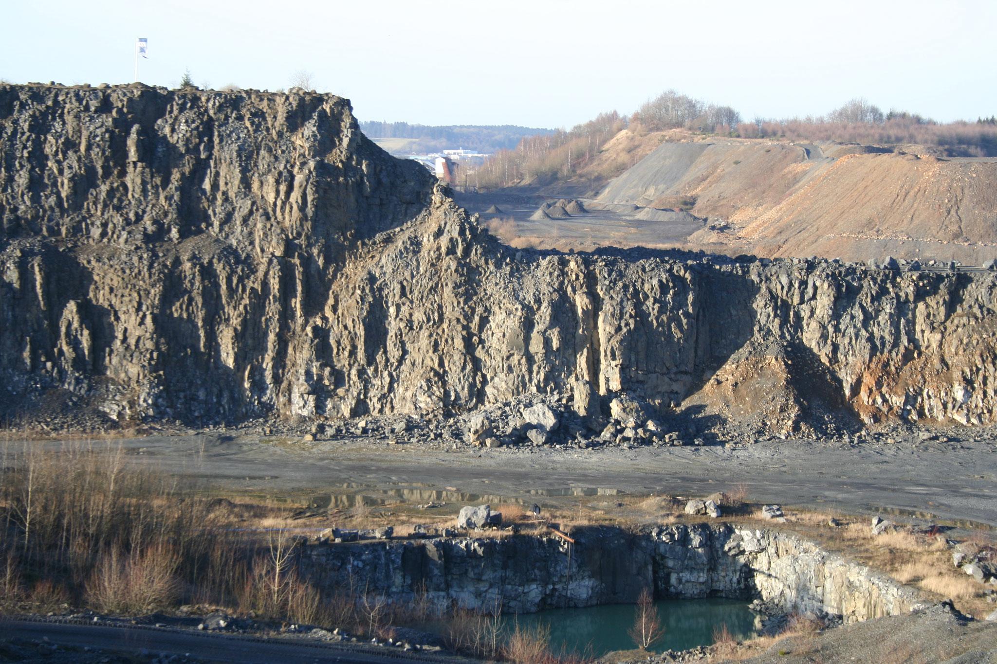 Steinbruch Stockum  und Tiefgang