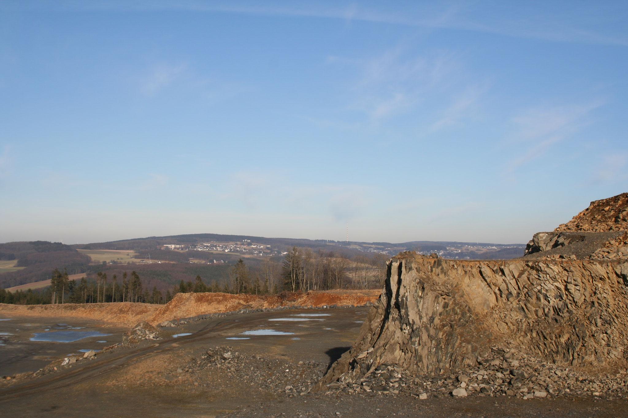 Steinbruch Stockum - Zufahrtsstraße