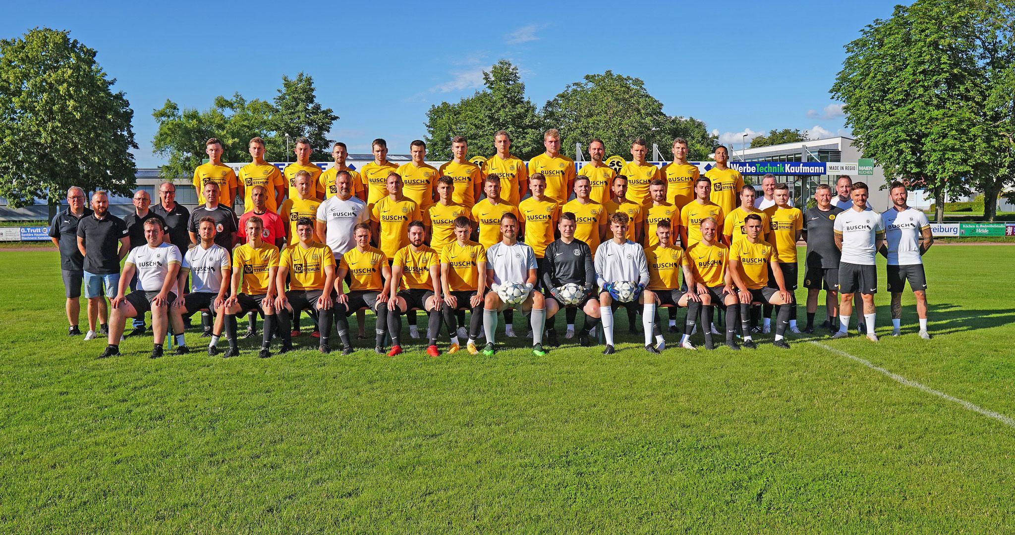 Die aktiven Mannschaften des SC Wyhl