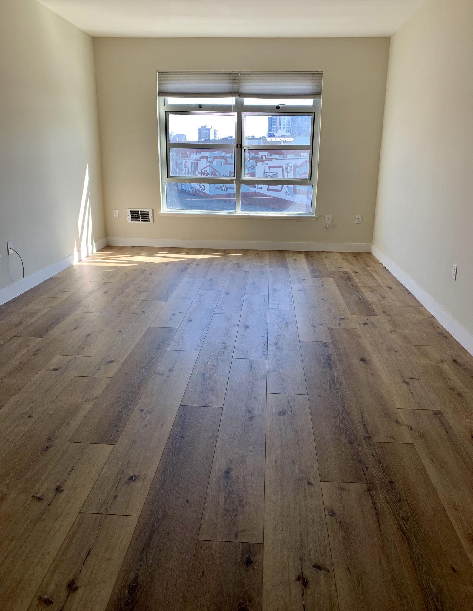 Living room/Brand new floor
