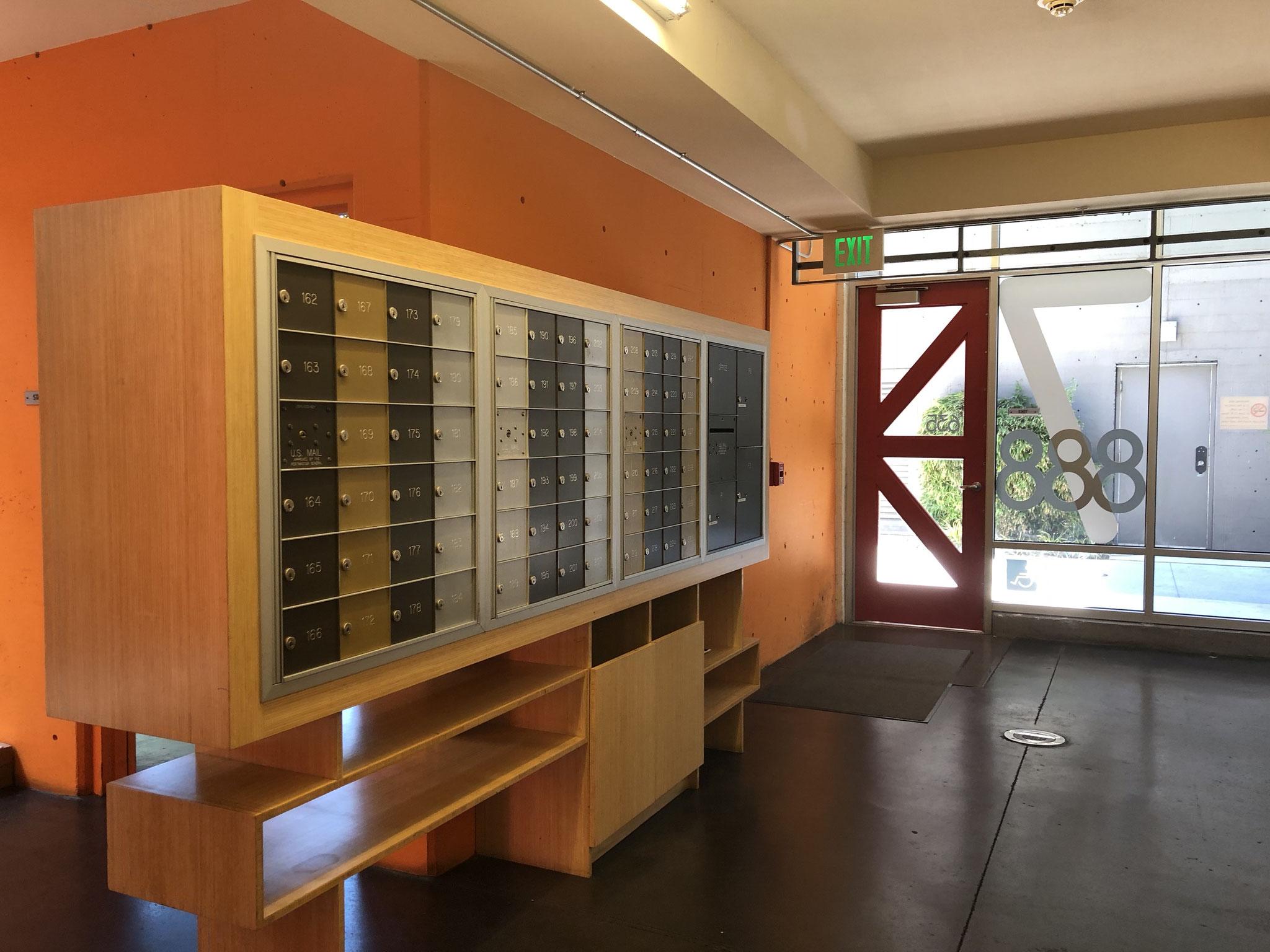 Mailbox  area