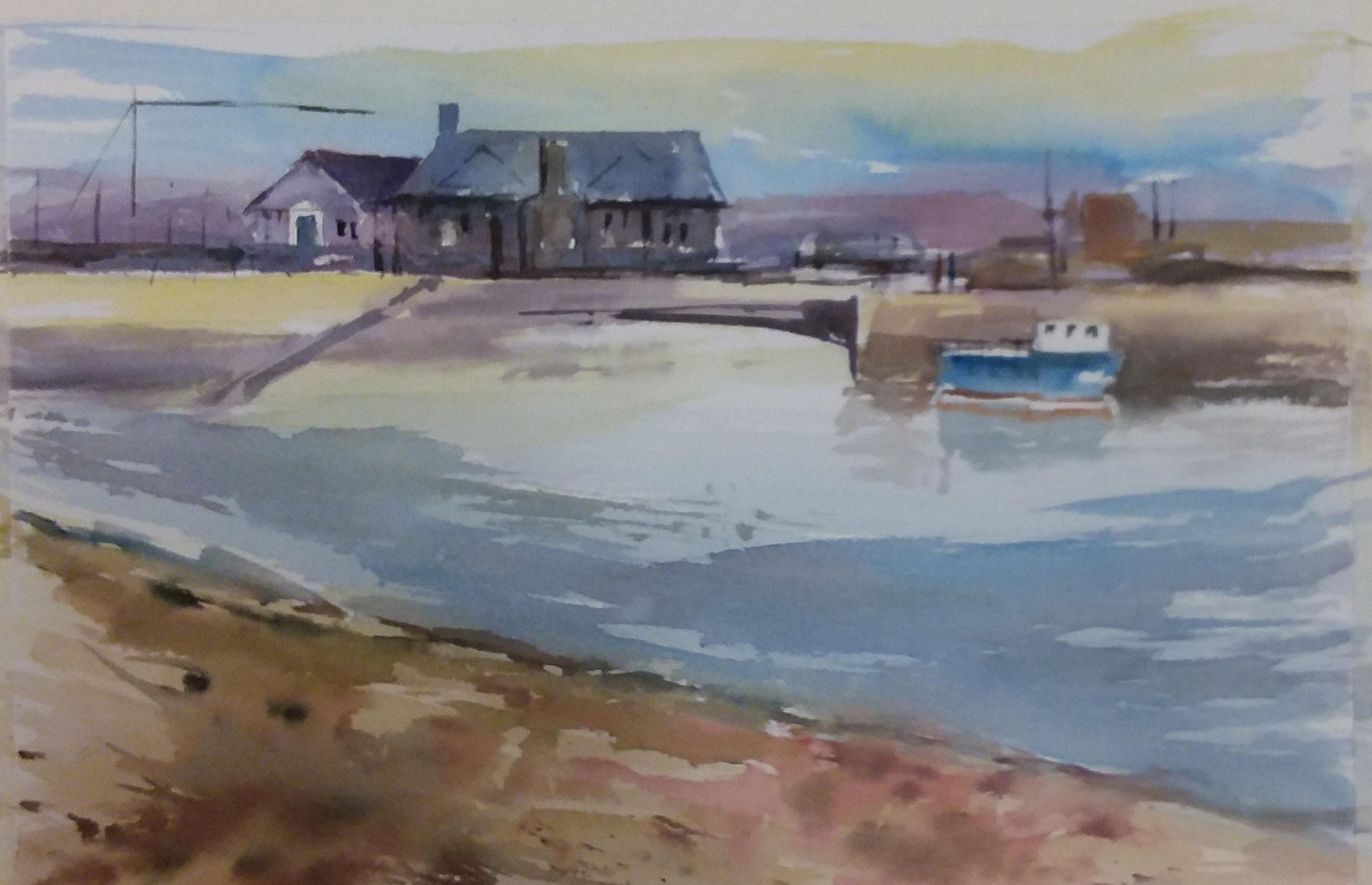 """"""" Muelle de Galway. Irlanda """" 40x30  Master-Class."""