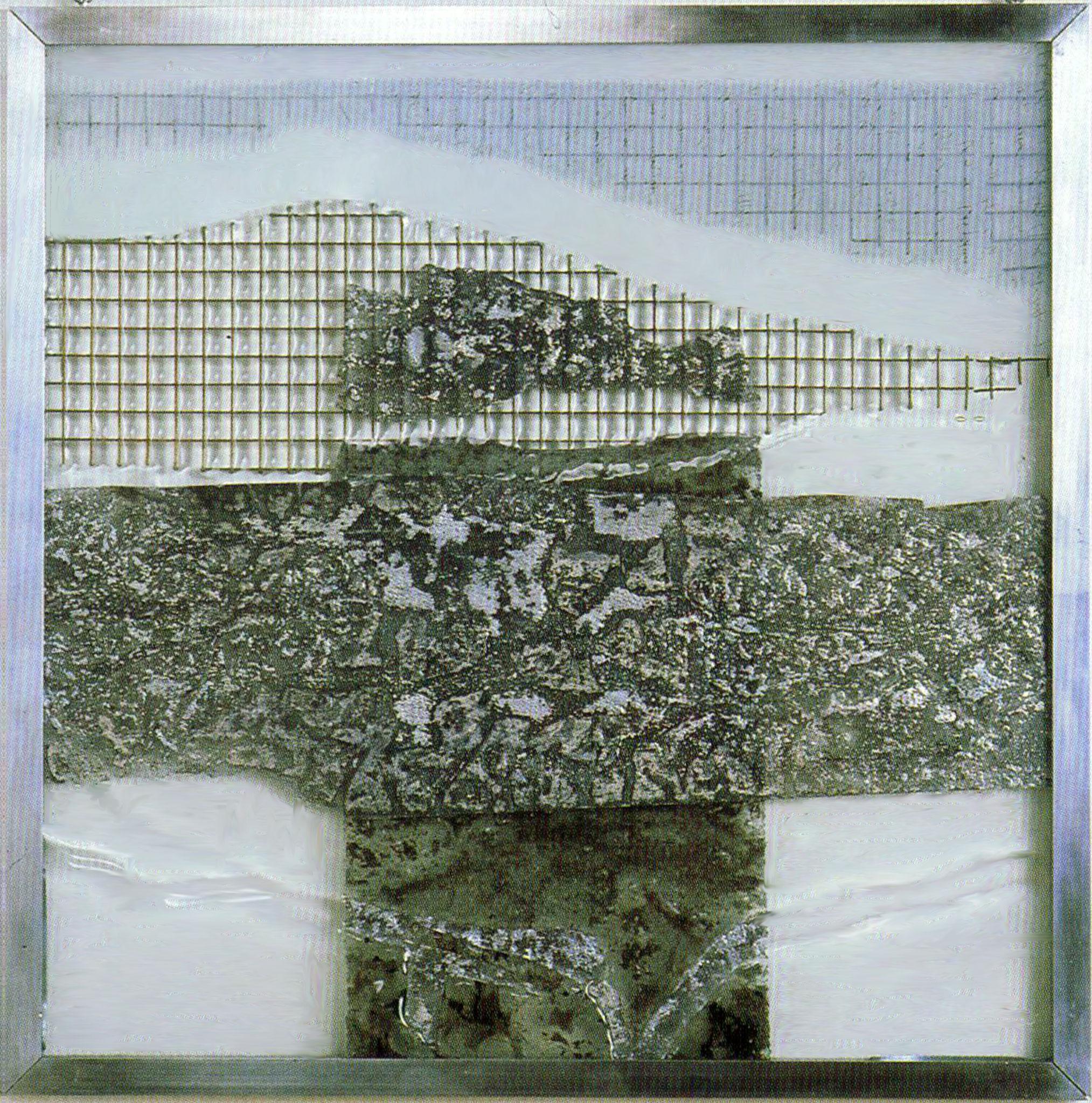 Kreuz 1, 47X47cm 1999