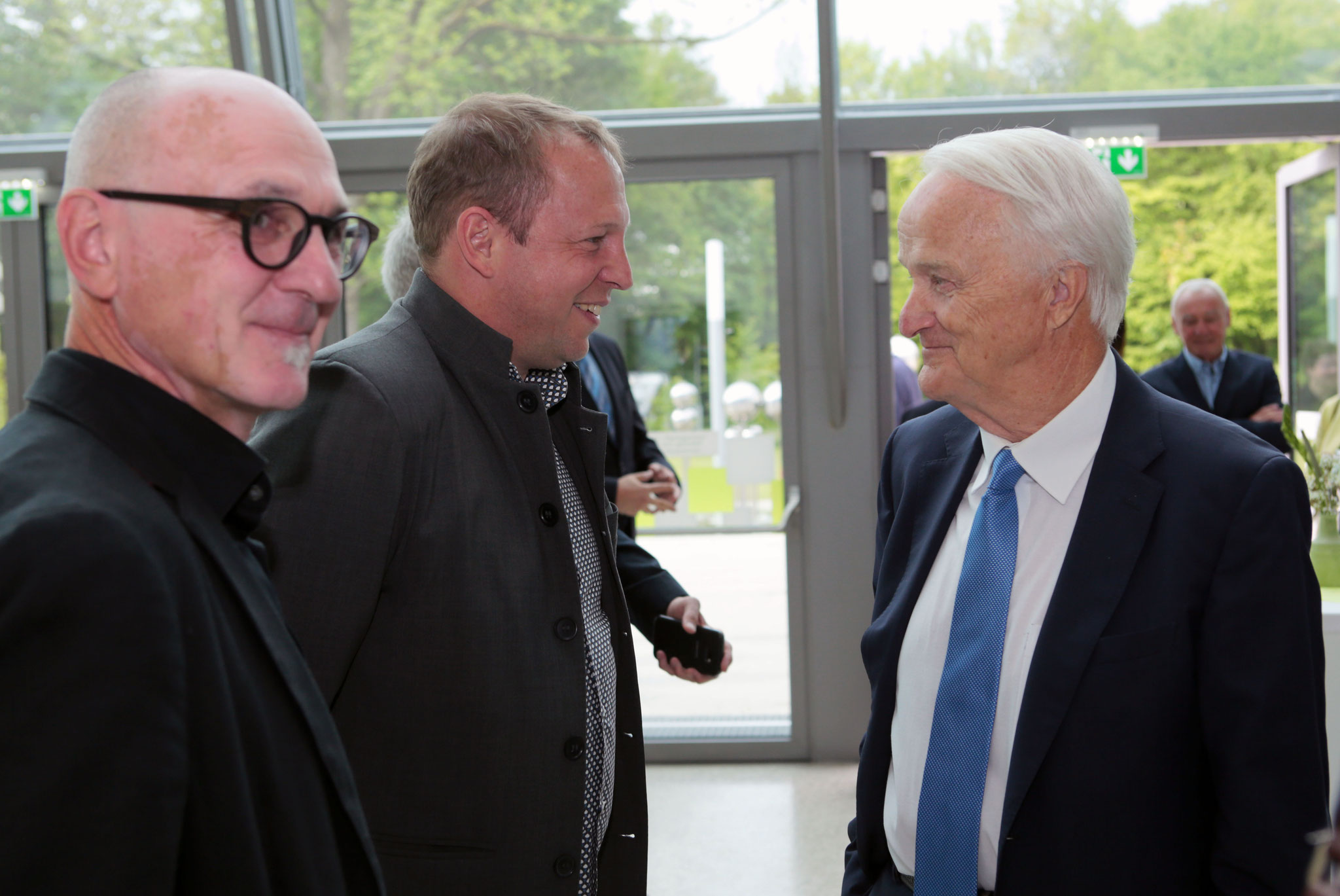 v.l.: Valentin Schweitzer, Gernot Koren, Werner Schöny