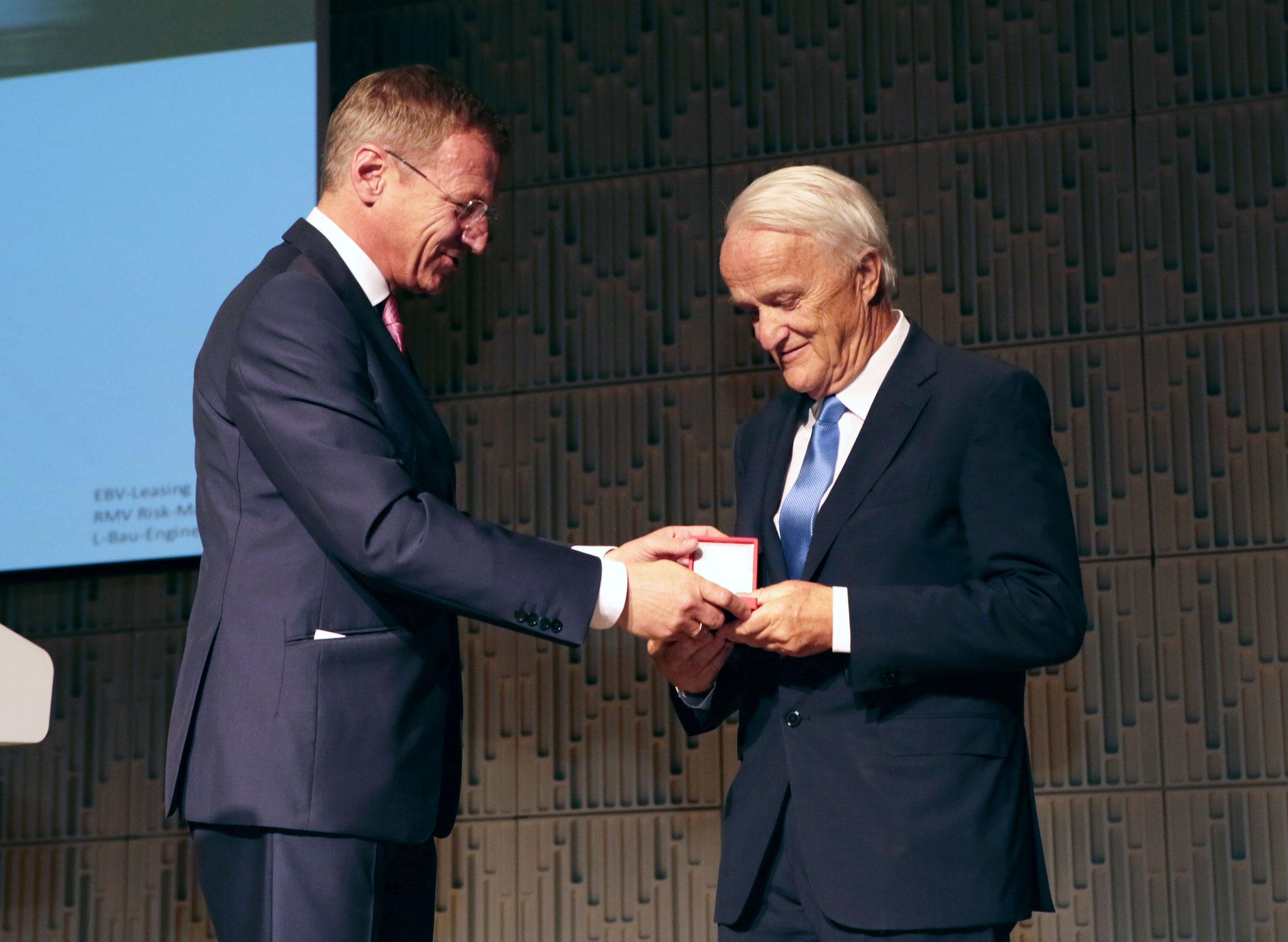 v.l.: Thomas Stelzer, Werner Schöny