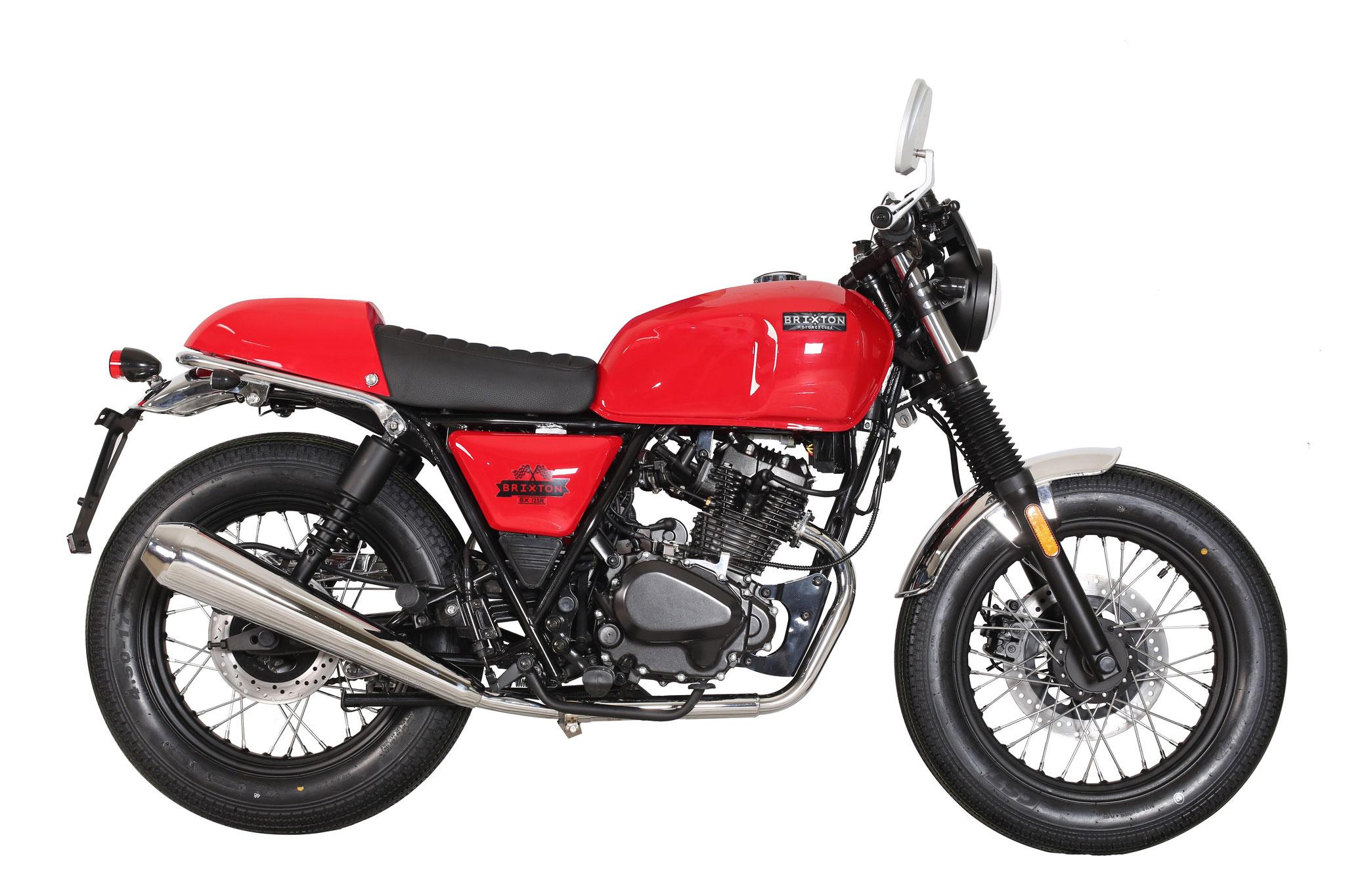 BX 125 R | Der Retro-Café-Racer