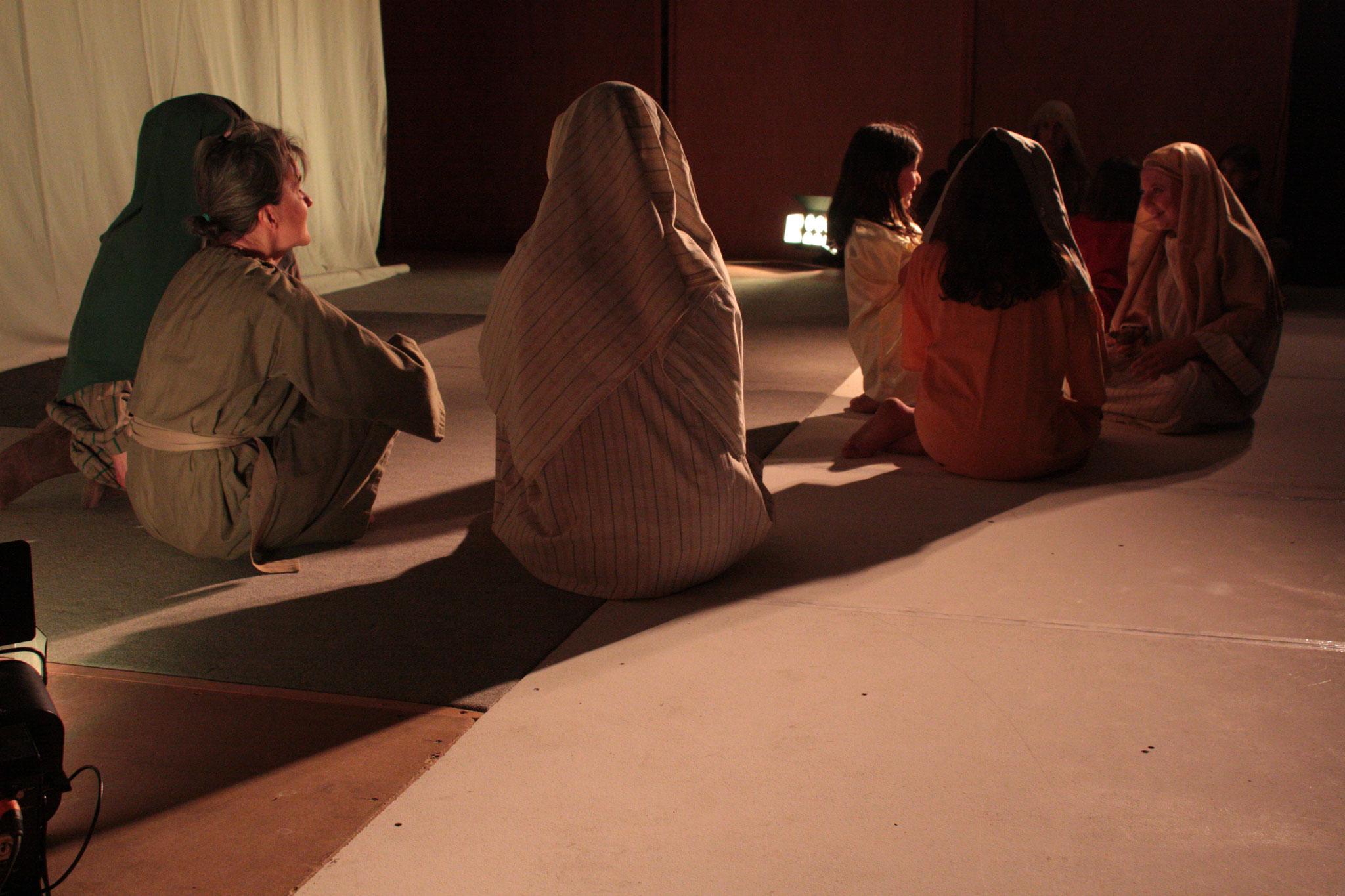 Les vierges sages et les vierges folles - photo JDR
