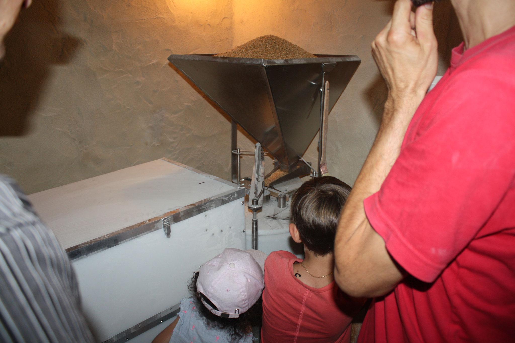 Mer. 8 août 2018 : de Parisot au Cuzoul. Visite de la boulangerie de Causseviel