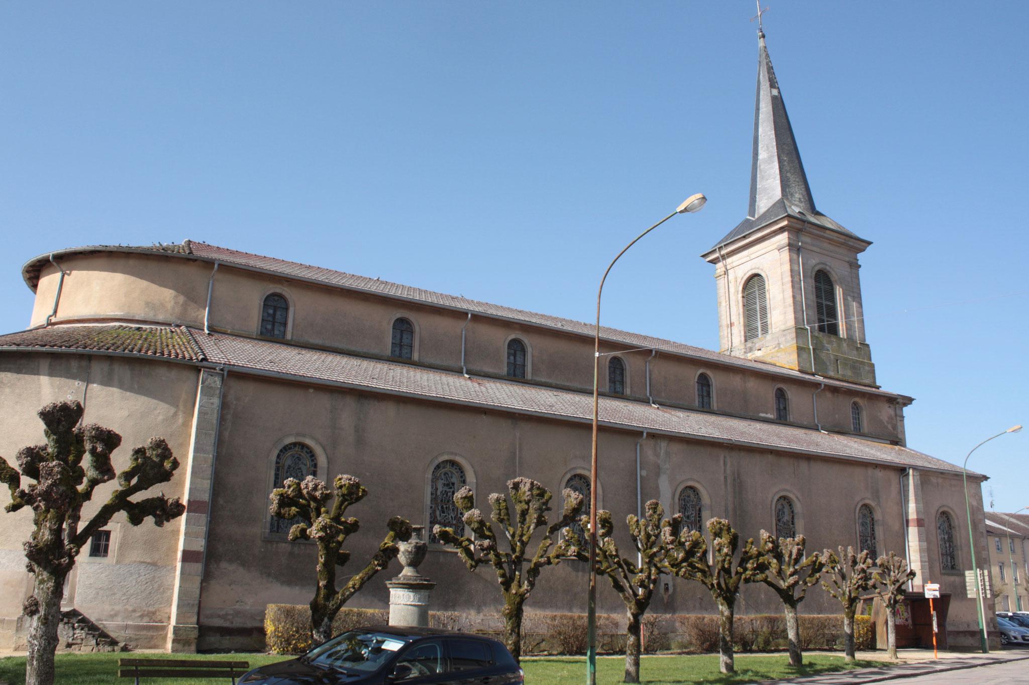 église St J-Baptiste de La Viéville - © JDR