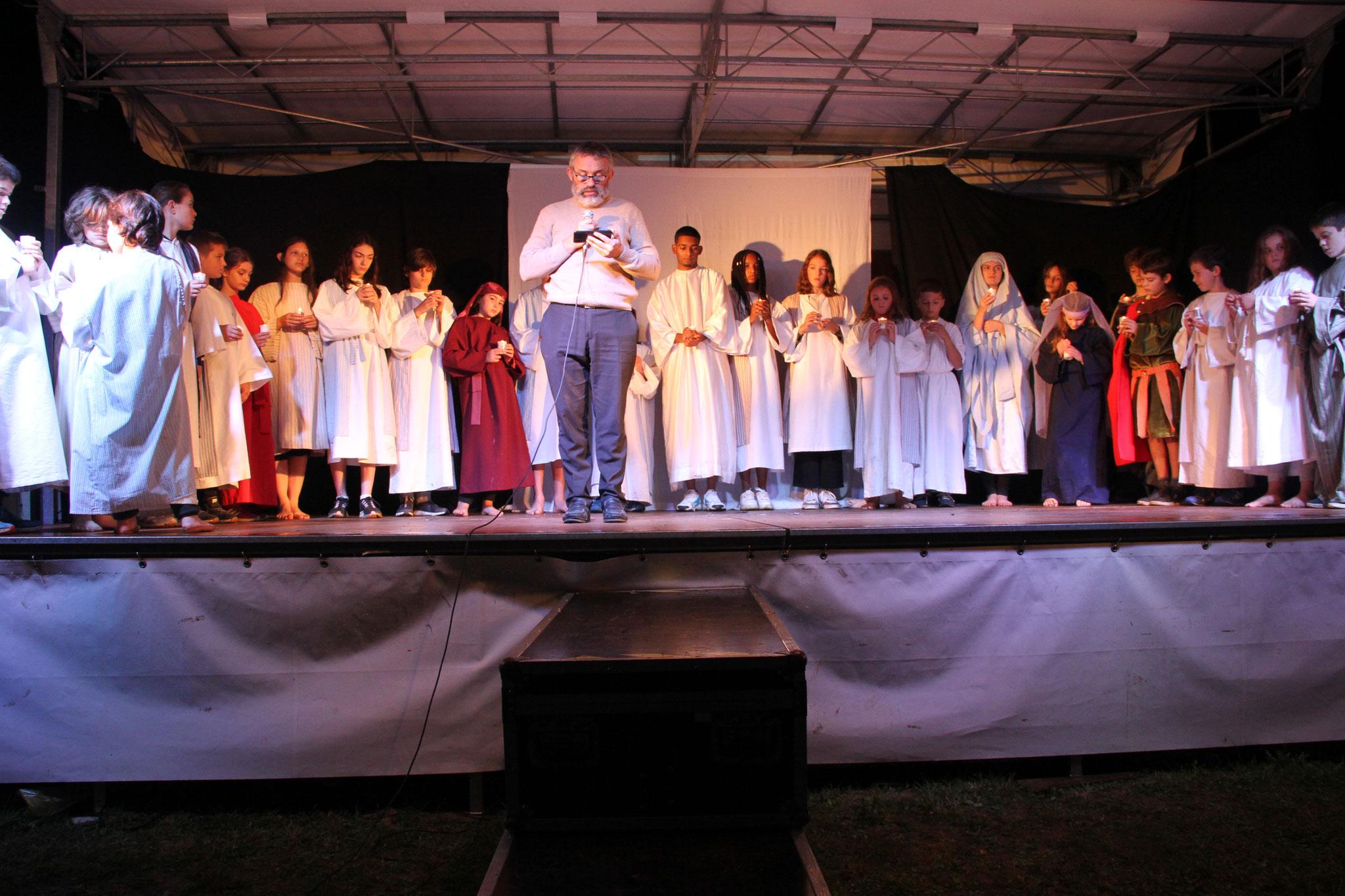 La prière de St Jean-Gabriel Perboyre lue par le Vicaire Général  (c) JDR