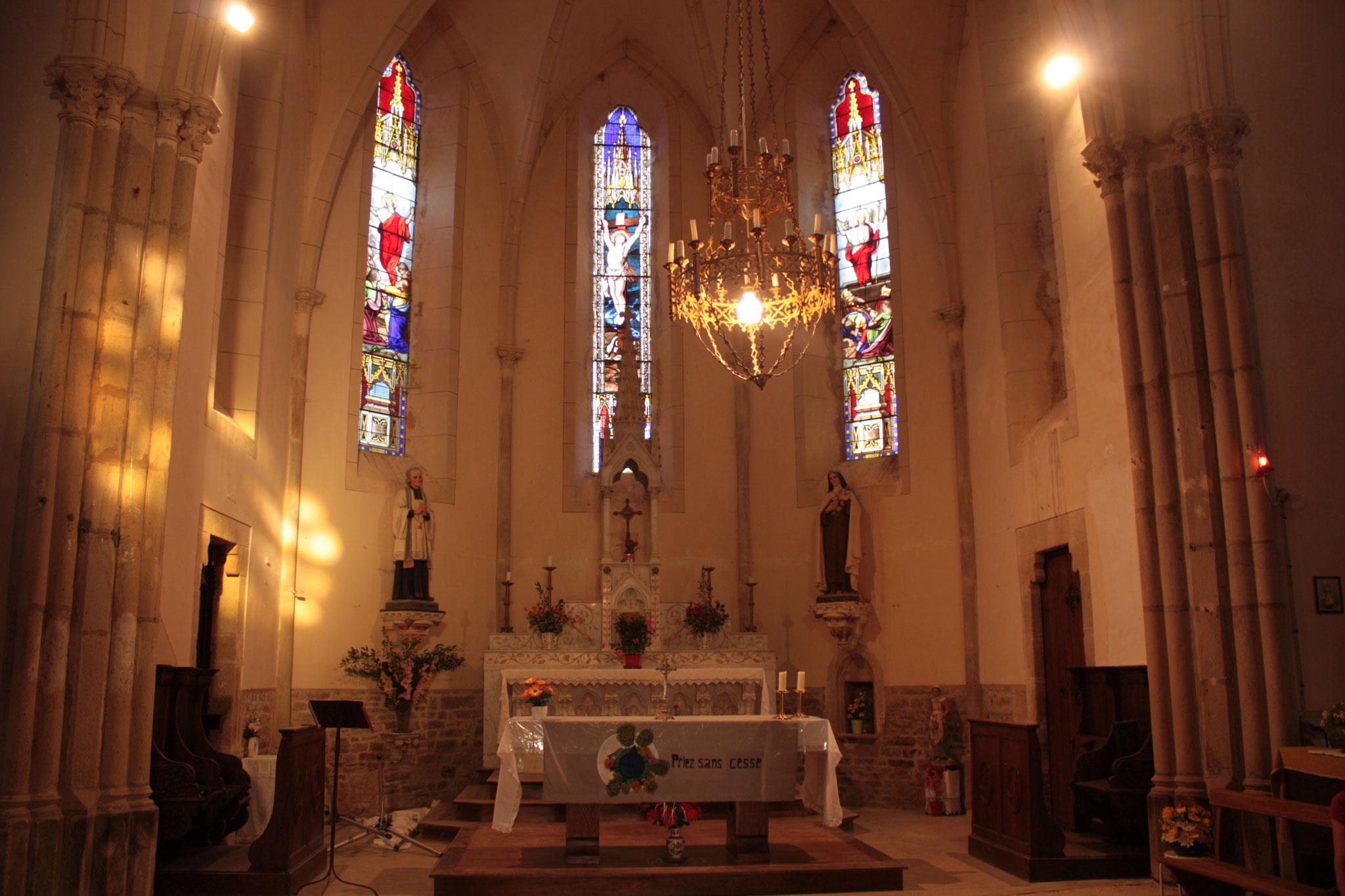 Mer. 8 août 2018 : église du Cuzoul