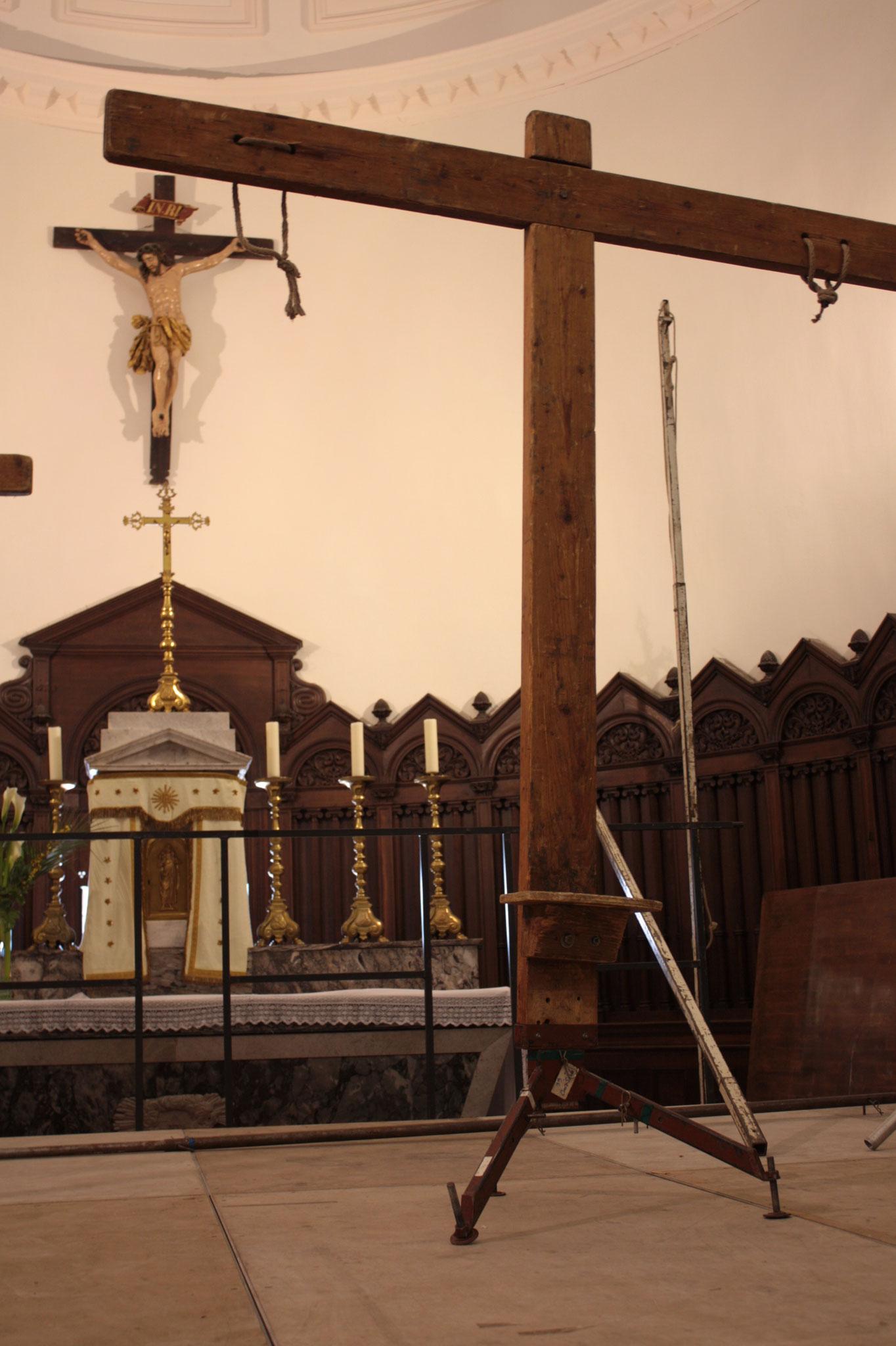 intérieur de l'église St J-Baptiste de La Viéville - © JDR