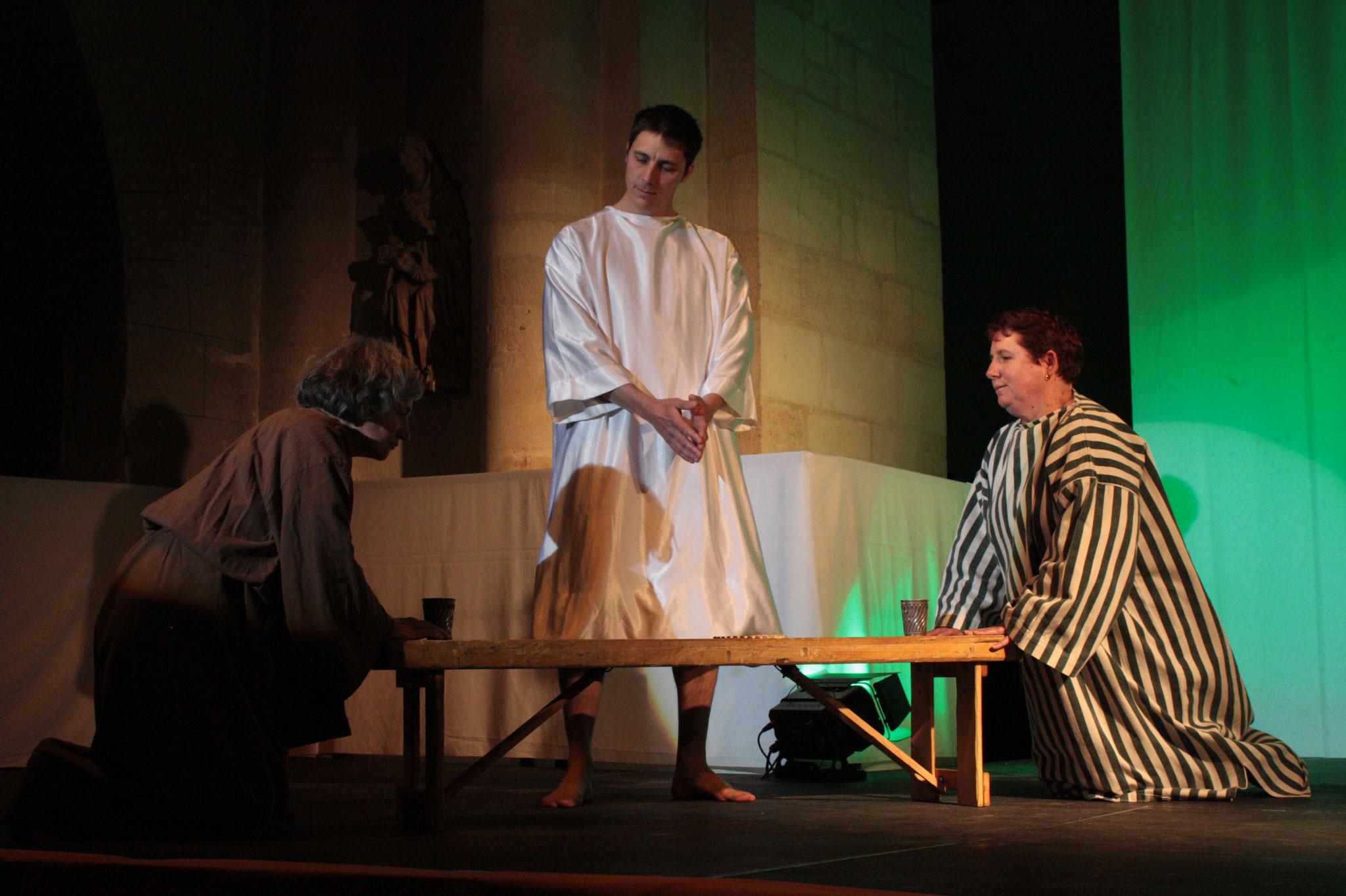 Les disciples d'Emmaüs - (c) JDR