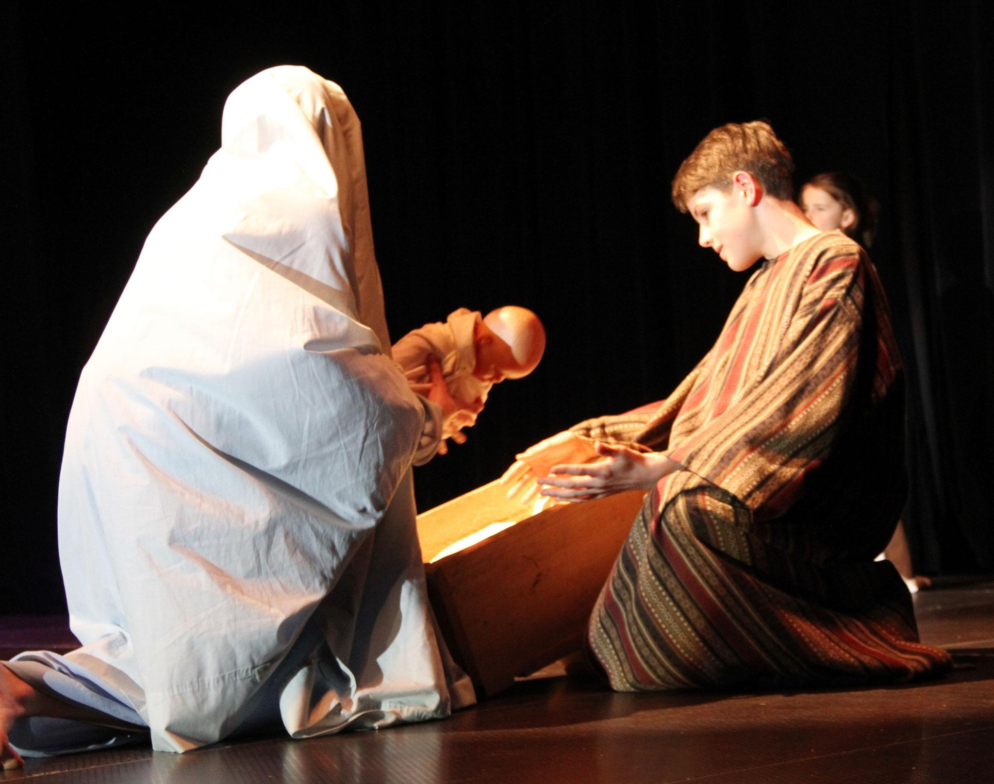 La naissance de Jésus (c) Père Serge