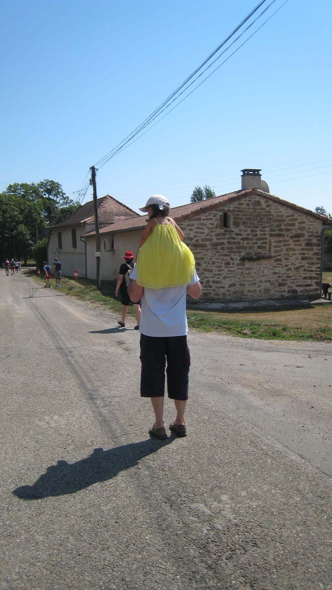 Dim. 5 août 2018 : de Lacapelle-Livron à Salvagnac
