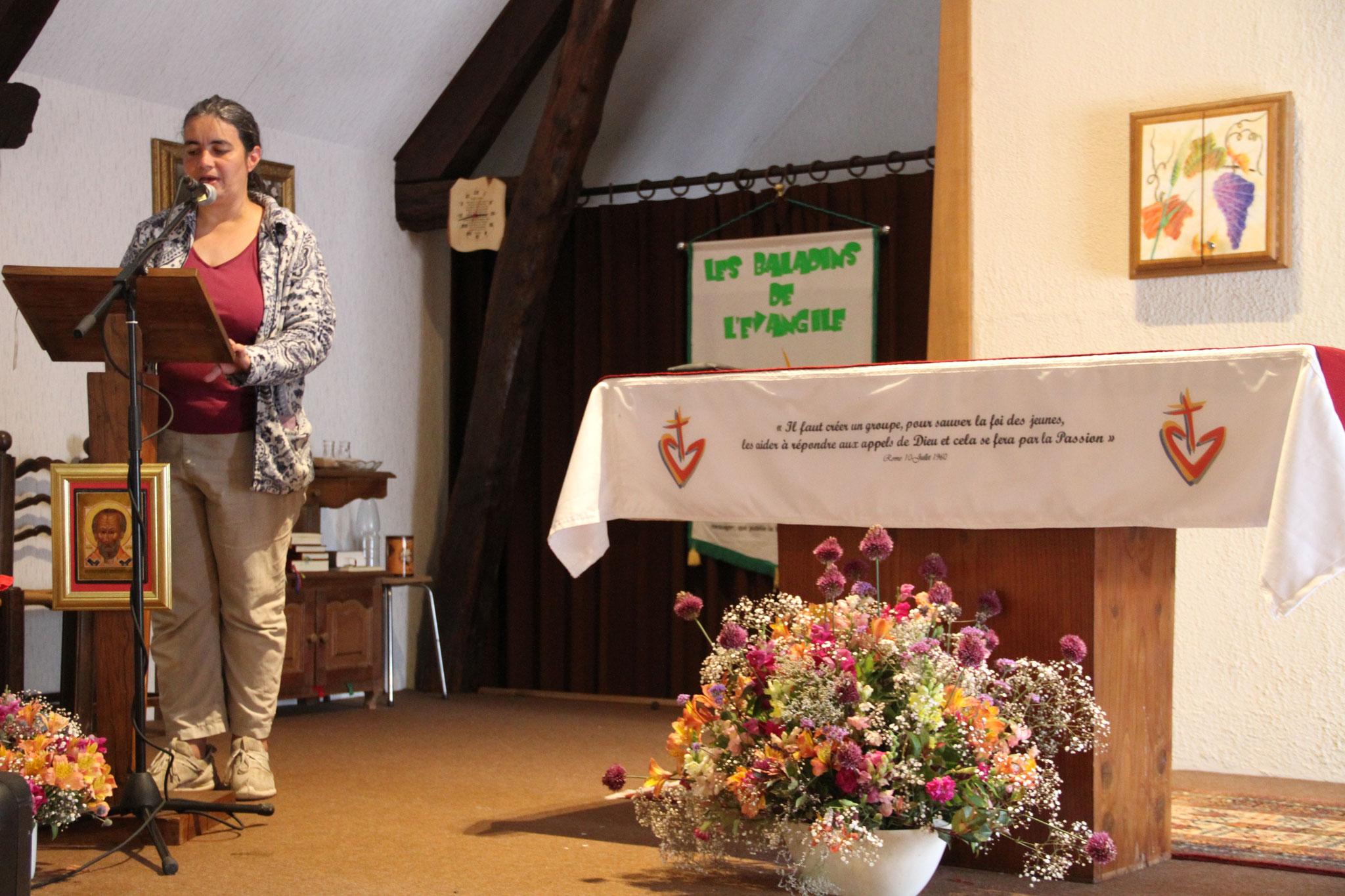"""Stage """"Prononcer la Parole de Dieu"""" (c) JDR"""