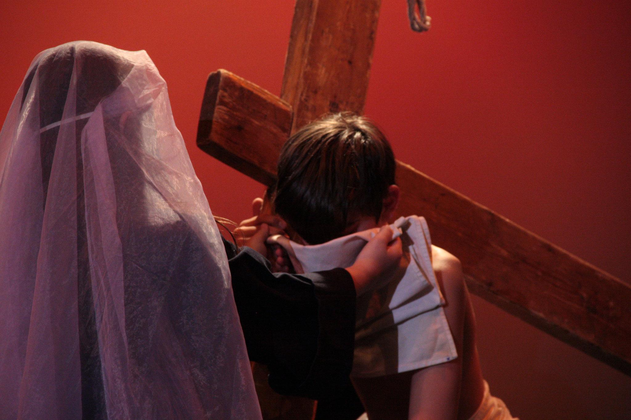 Le chemin de croix - © JDR