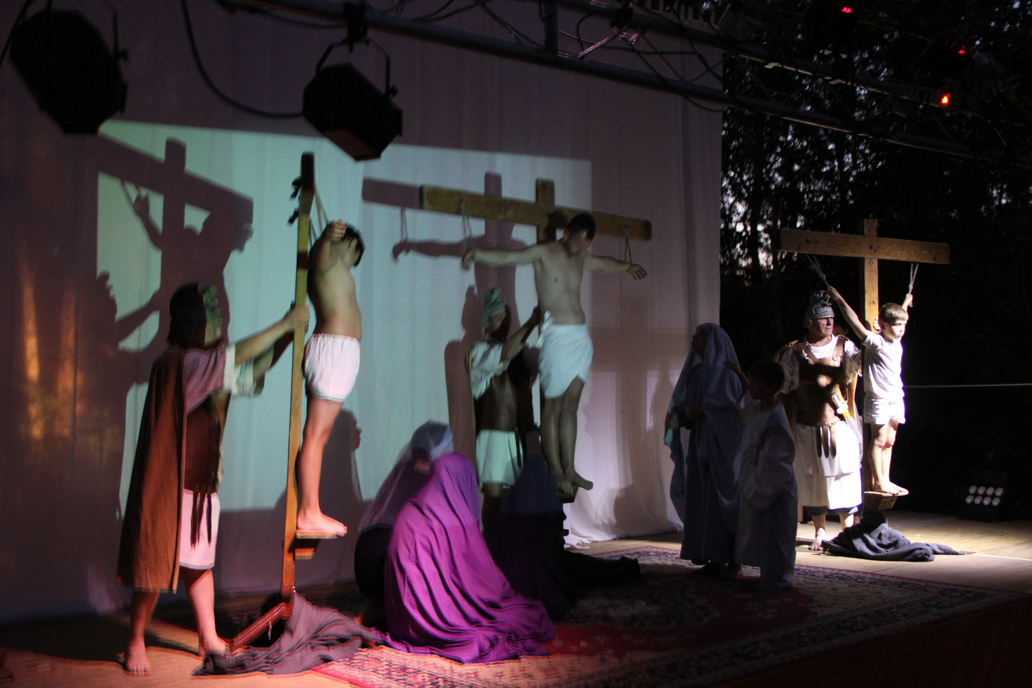 La mort en croix (c) JDR