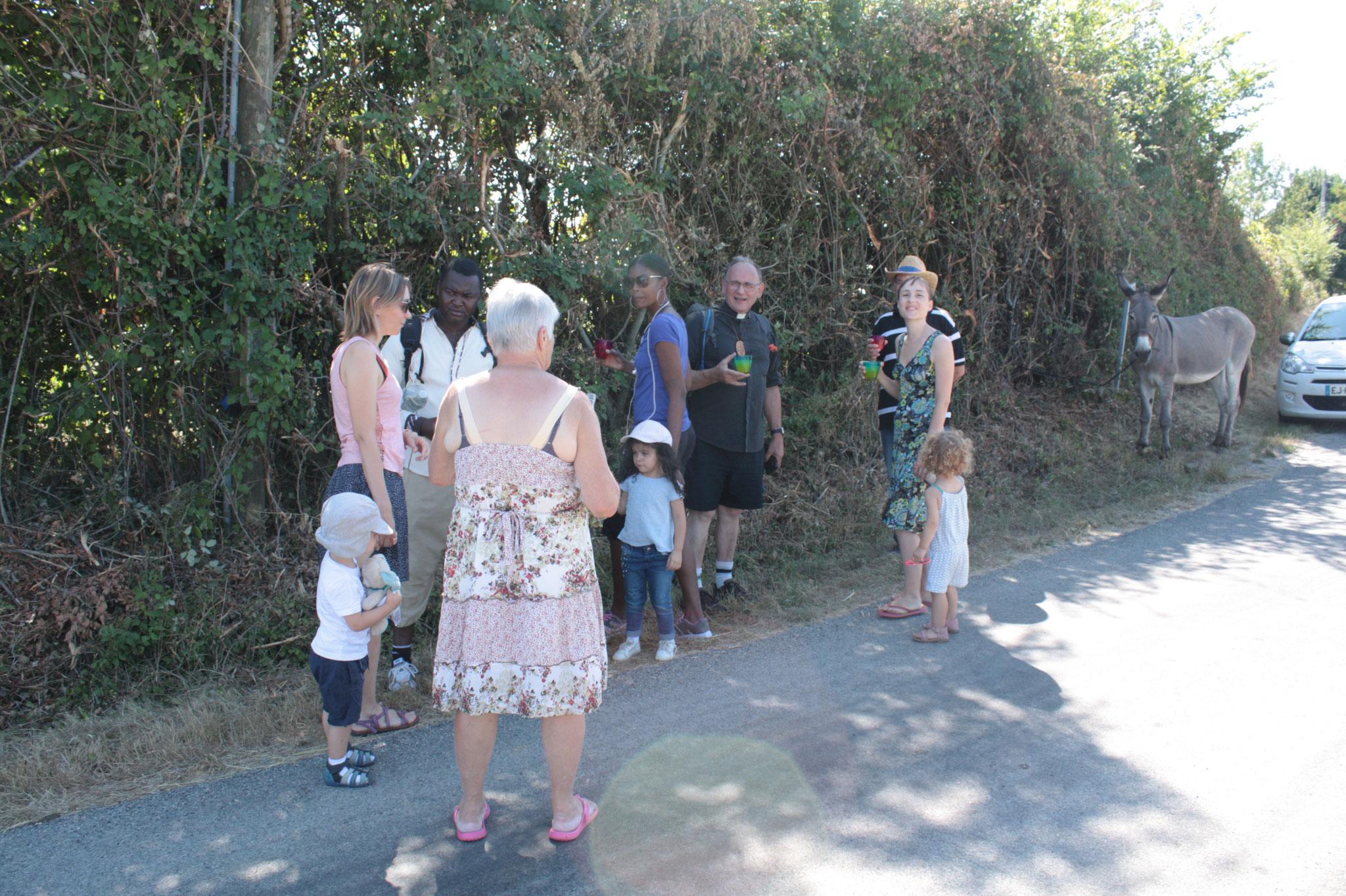Lun. 6 août 2018 :  de St Peyronis à Puylagarde