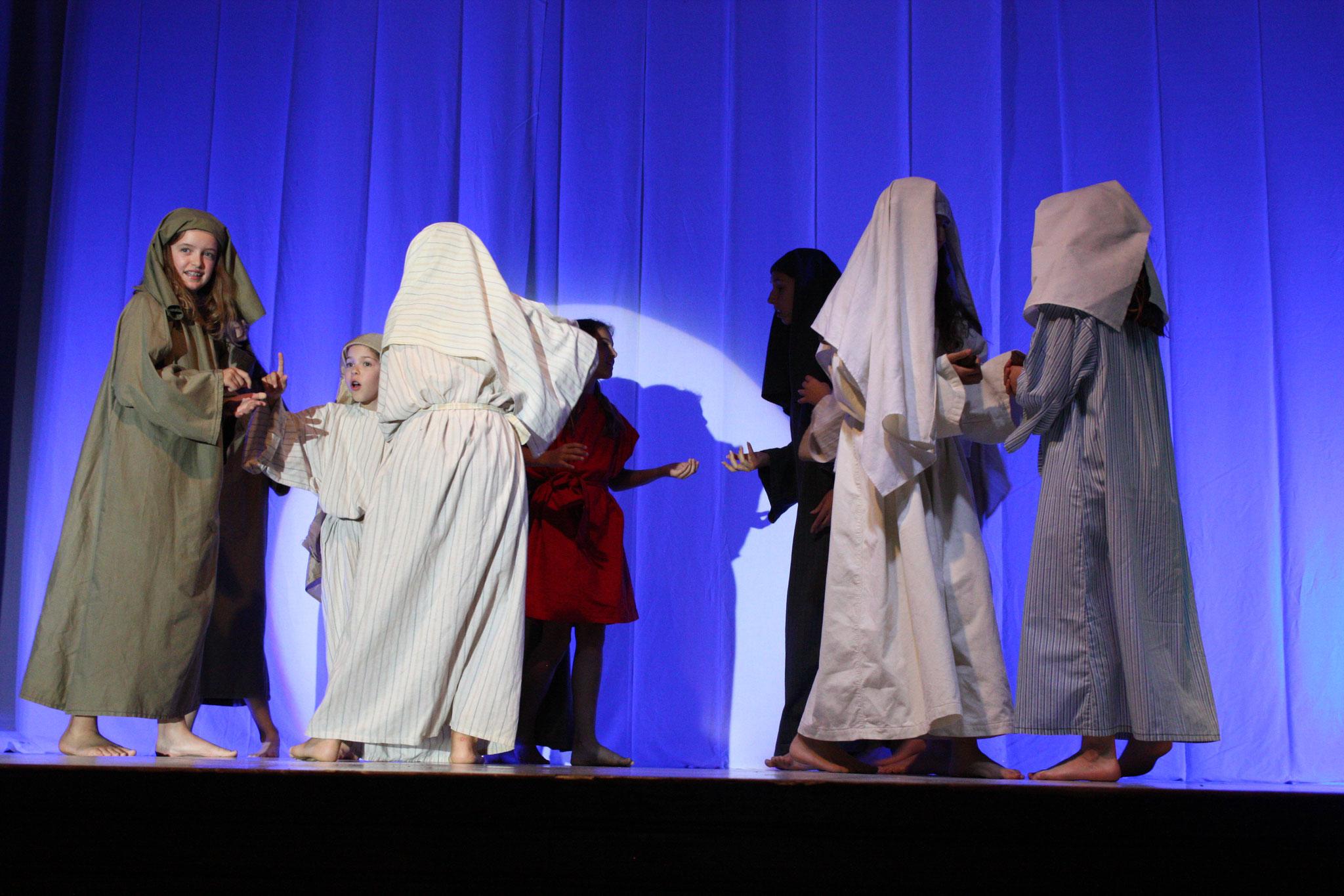 Les vierges sages et les vierges folles - (c) JDR