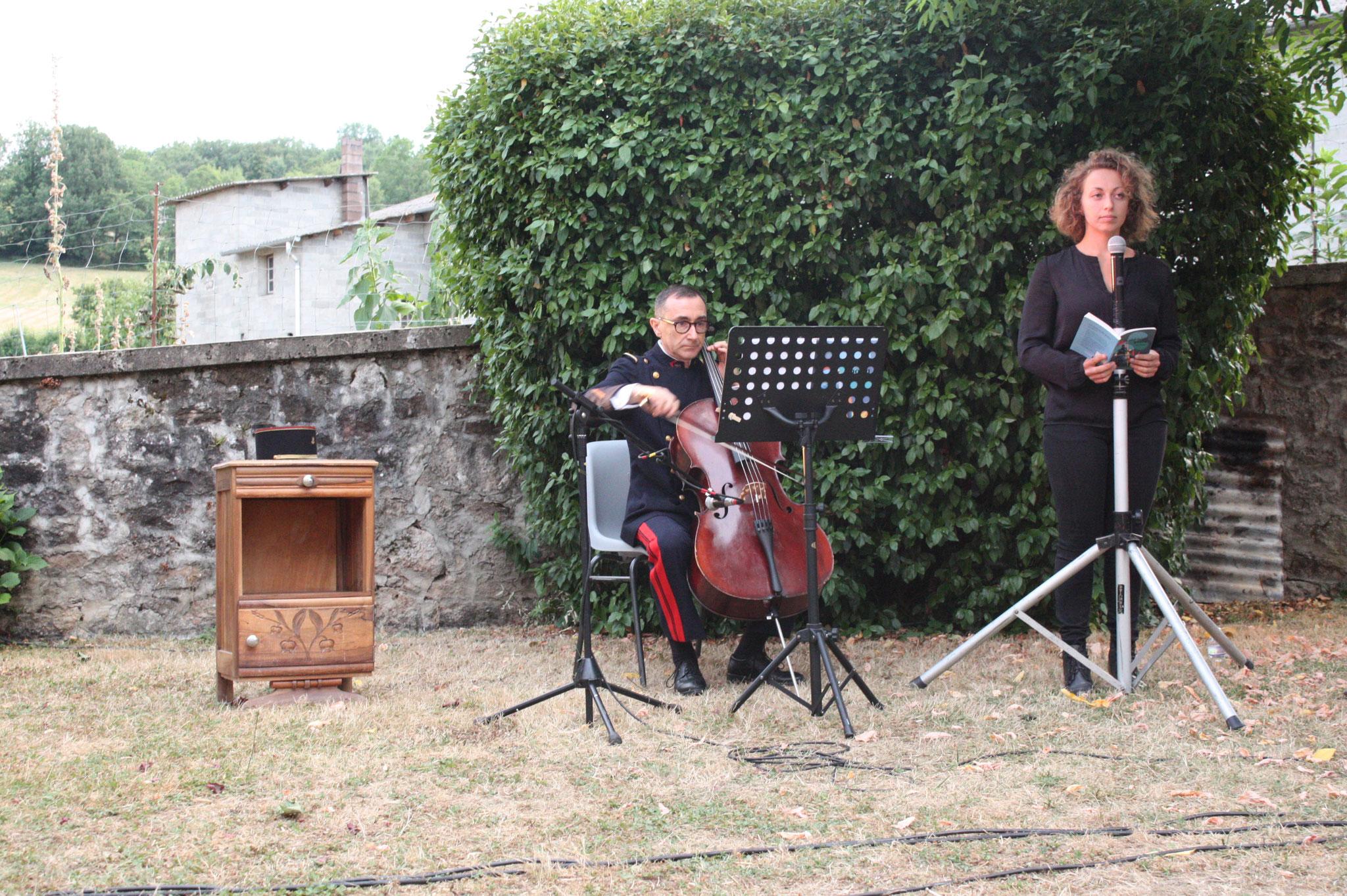 """Jeu. 9 août 2018 : conte musical """"le violoncelle poilu"""""""