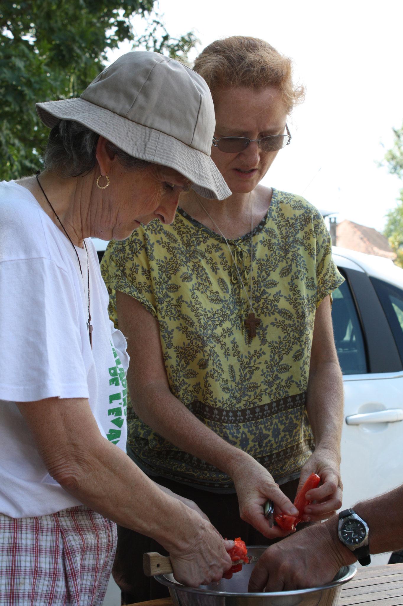 Dim. 5 août 2018 : déjeuner à St Peyronis