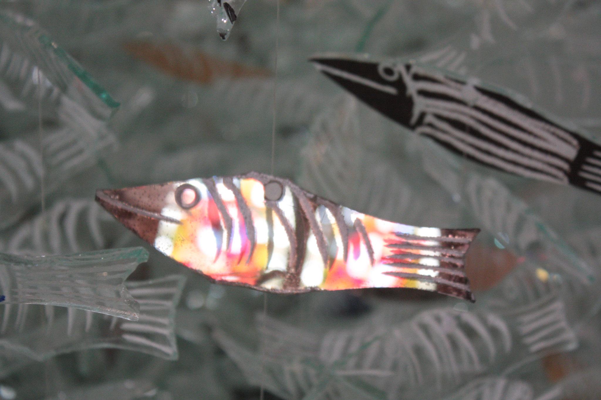 Les poissons - oeuvre de l'artiste Marcoville - (c) JDR