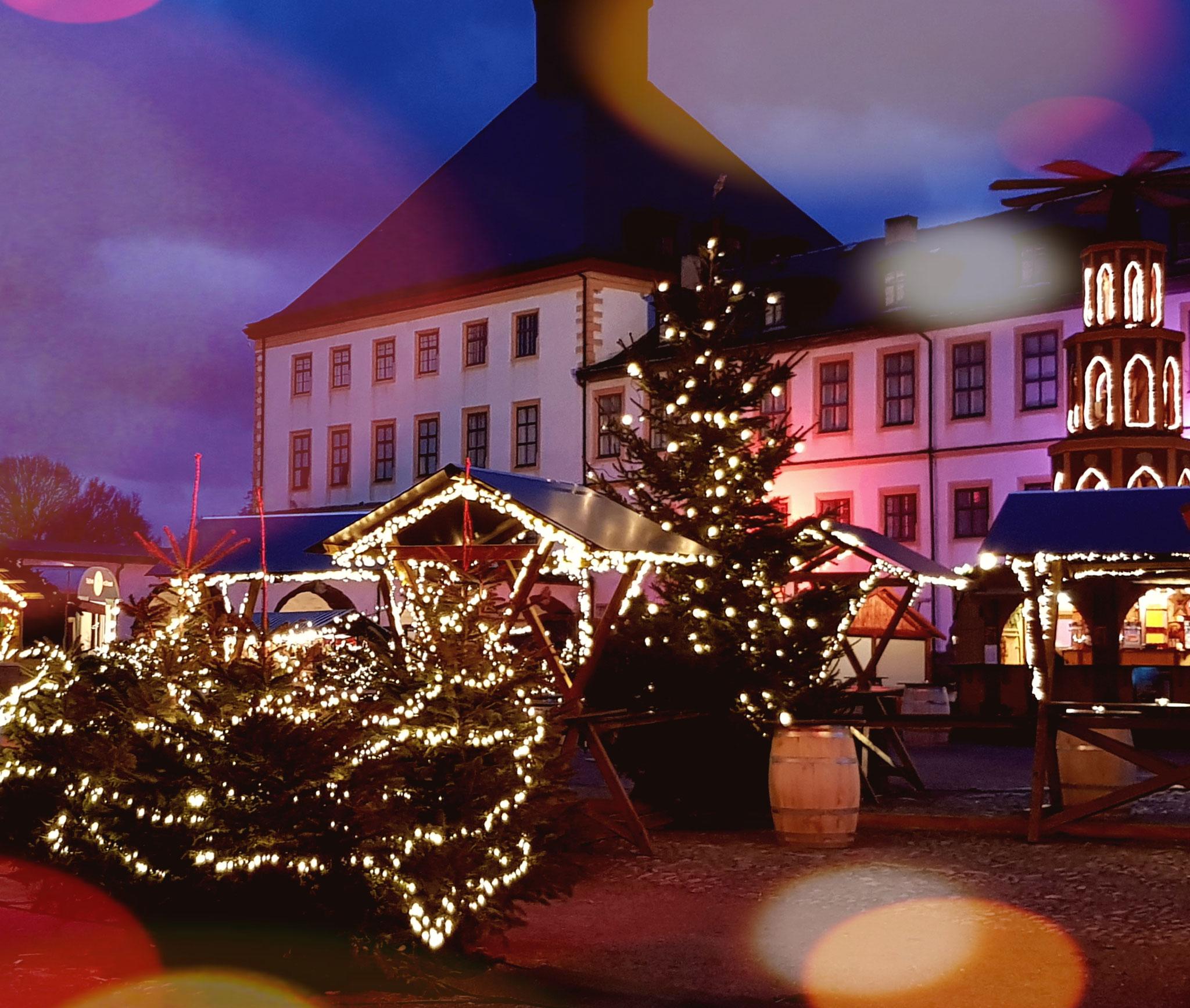 Weihnachtsmarkt auf Schloß Friedenstein