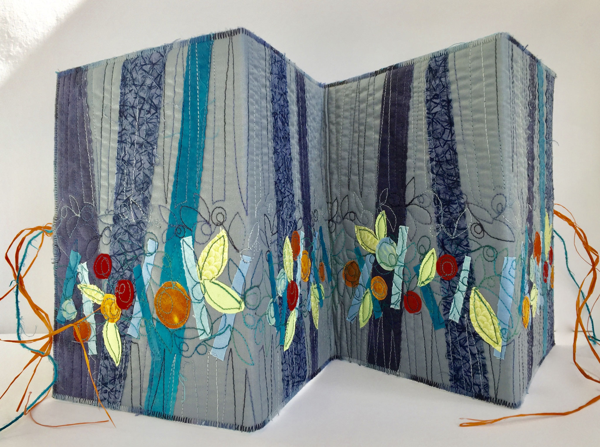Leporello Cover, Art Journal