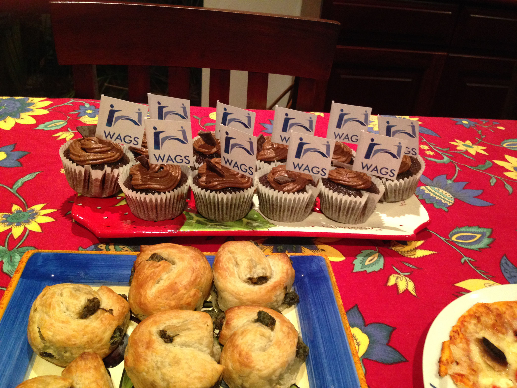 WAGS cupcakes 2015 the Inaugural year