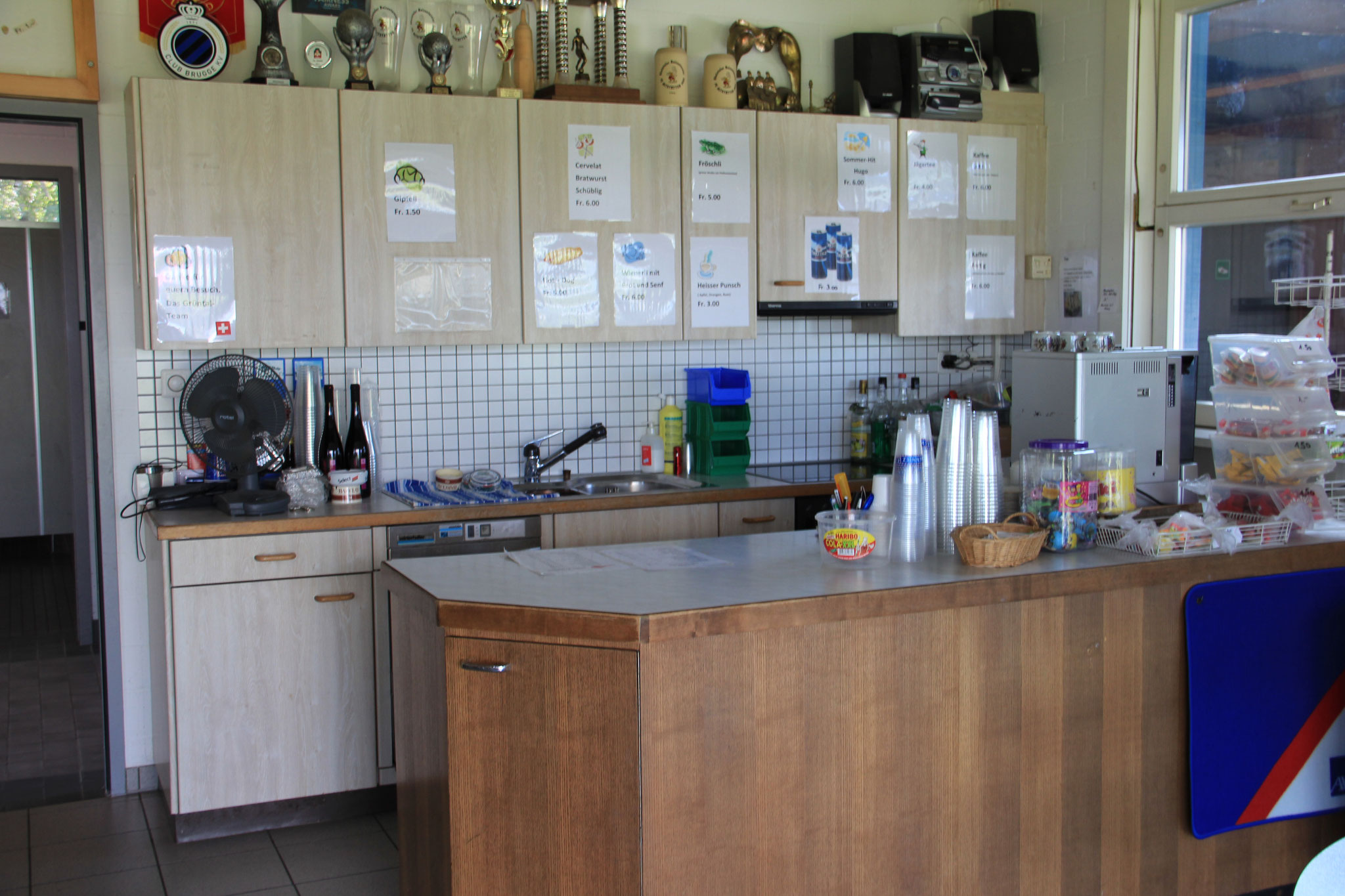 Restaurant/Clubhütte
