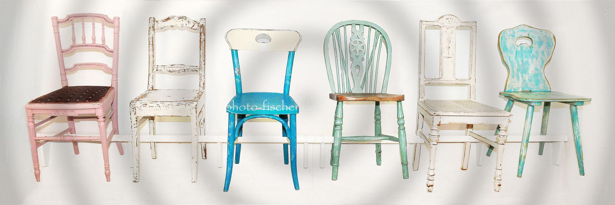 Vintage-Stühle