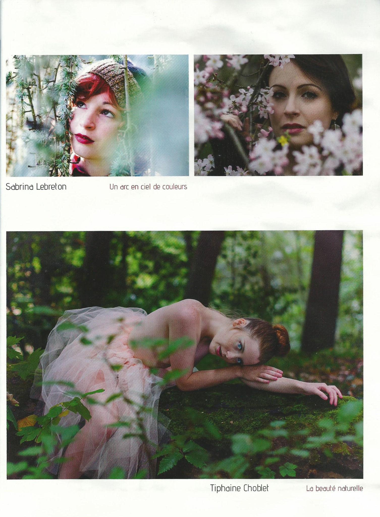 """Publication """"La beauté naturelle"""" (bas de page)"""