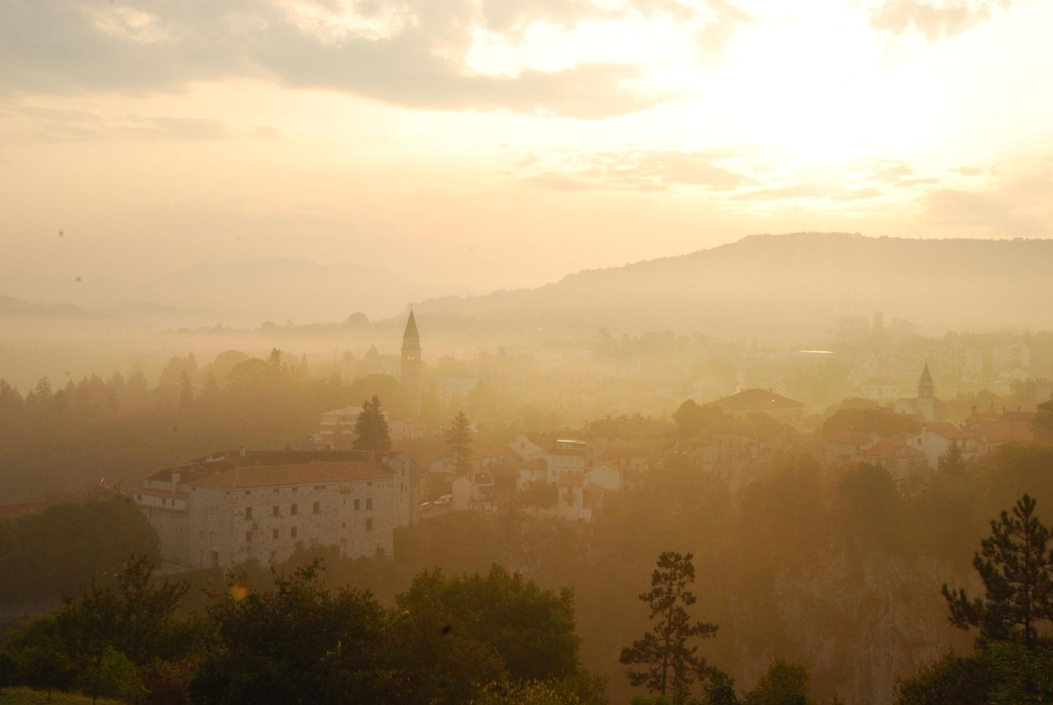 Pazin au coeur de l'Istrie